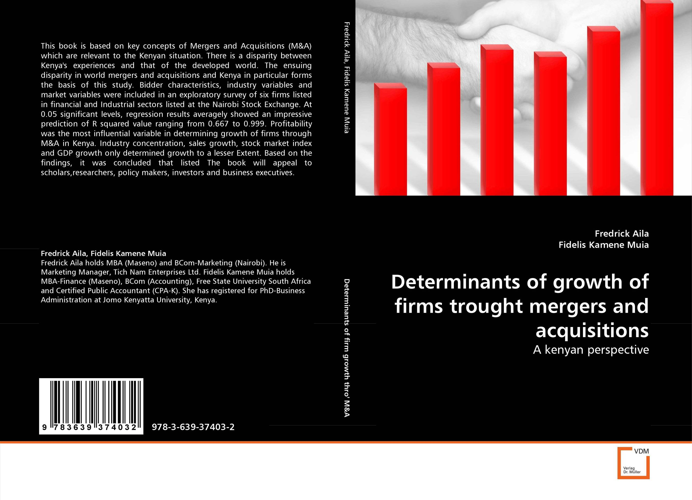 Determinants of growth of firms trought mergers and acquisitions gender and the growth of the export horticulture industry in kenya
