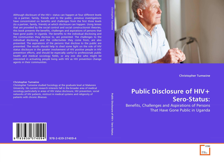 Public Disclosure of HIV+ Sero-Status: assessment of hiv status disclosure among plwha in tano north district