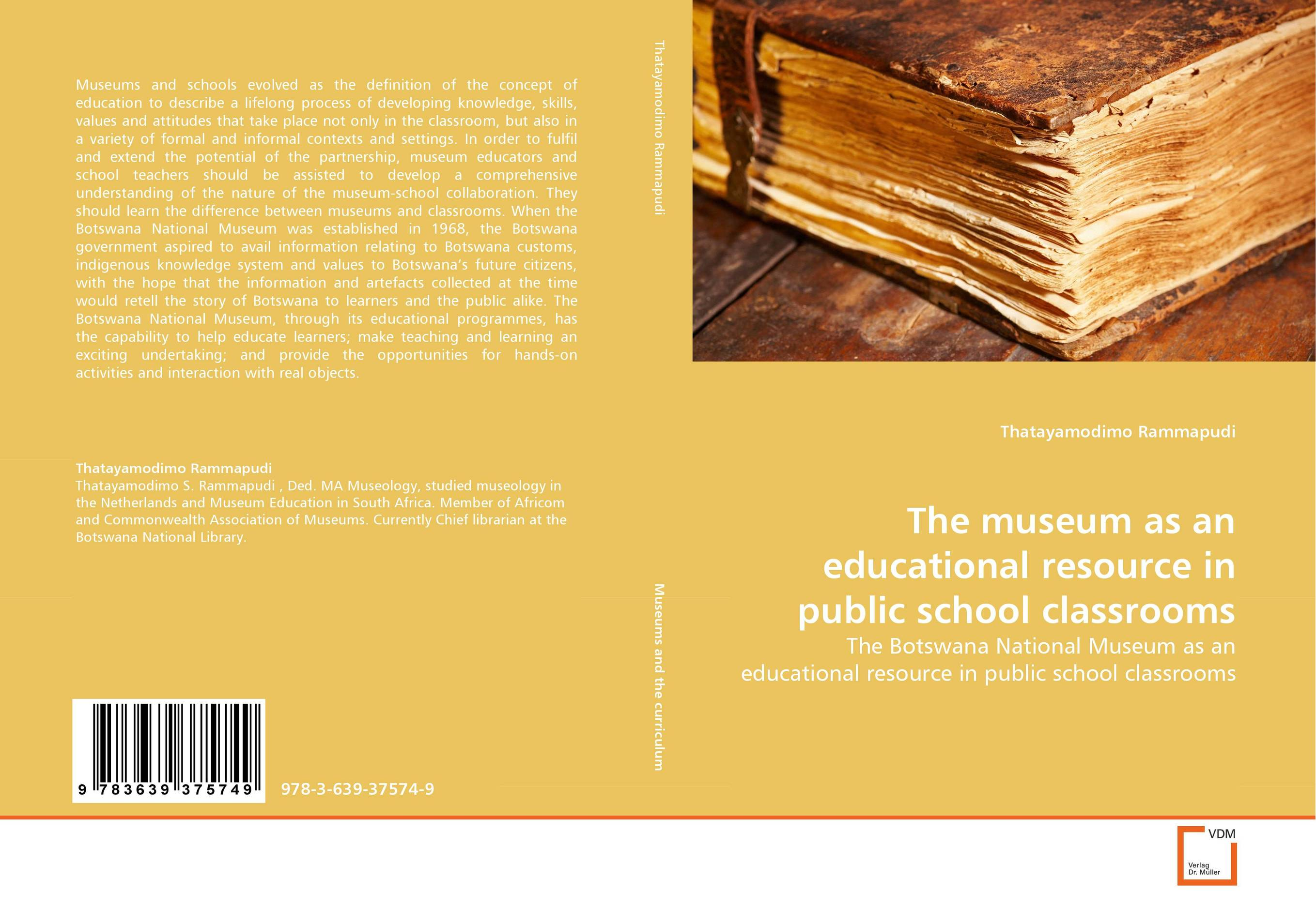 The museum as an educational resource in public school classrooms educational resource allocation