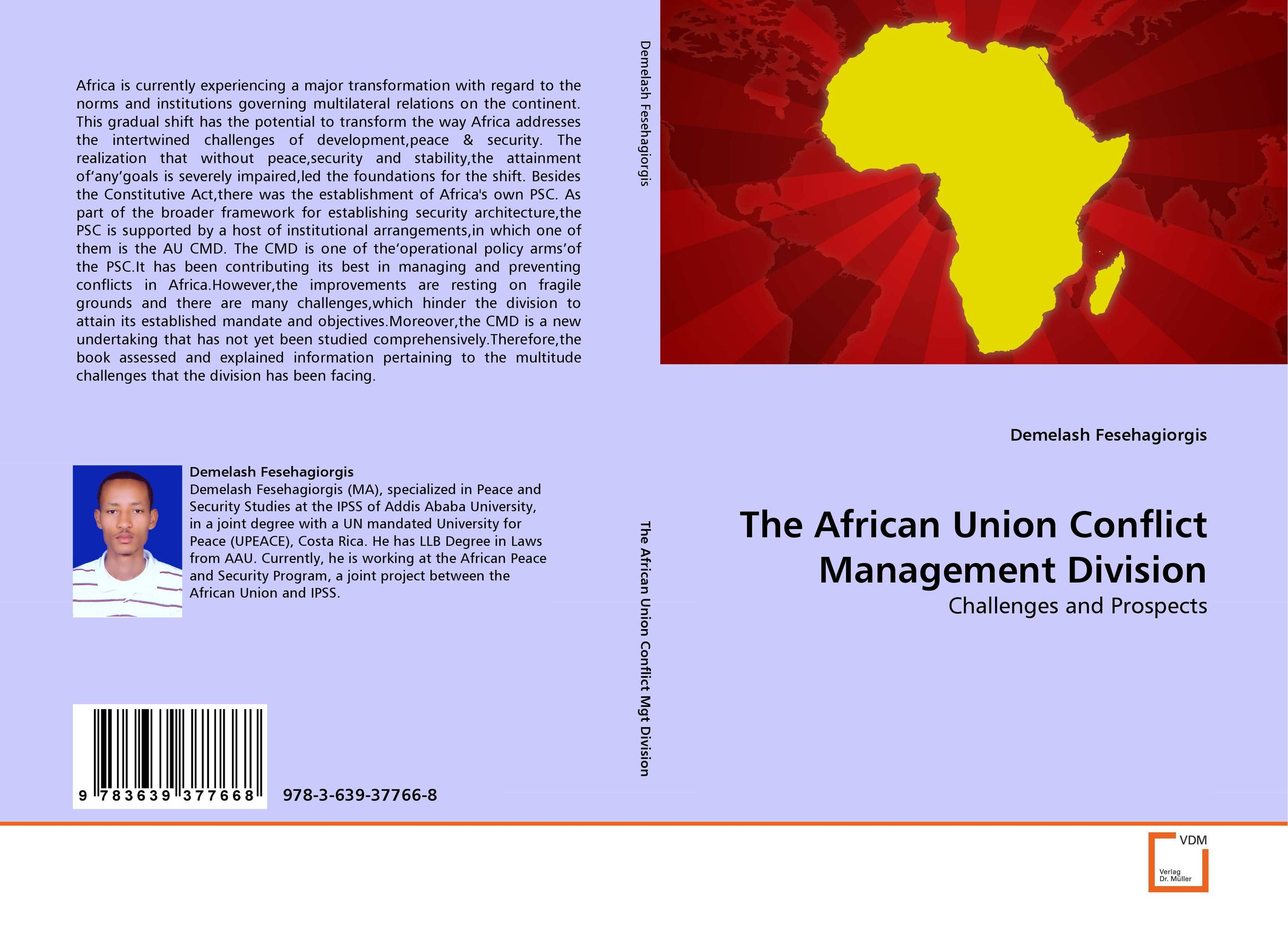 The African Union Conflict Management Division cmd sport