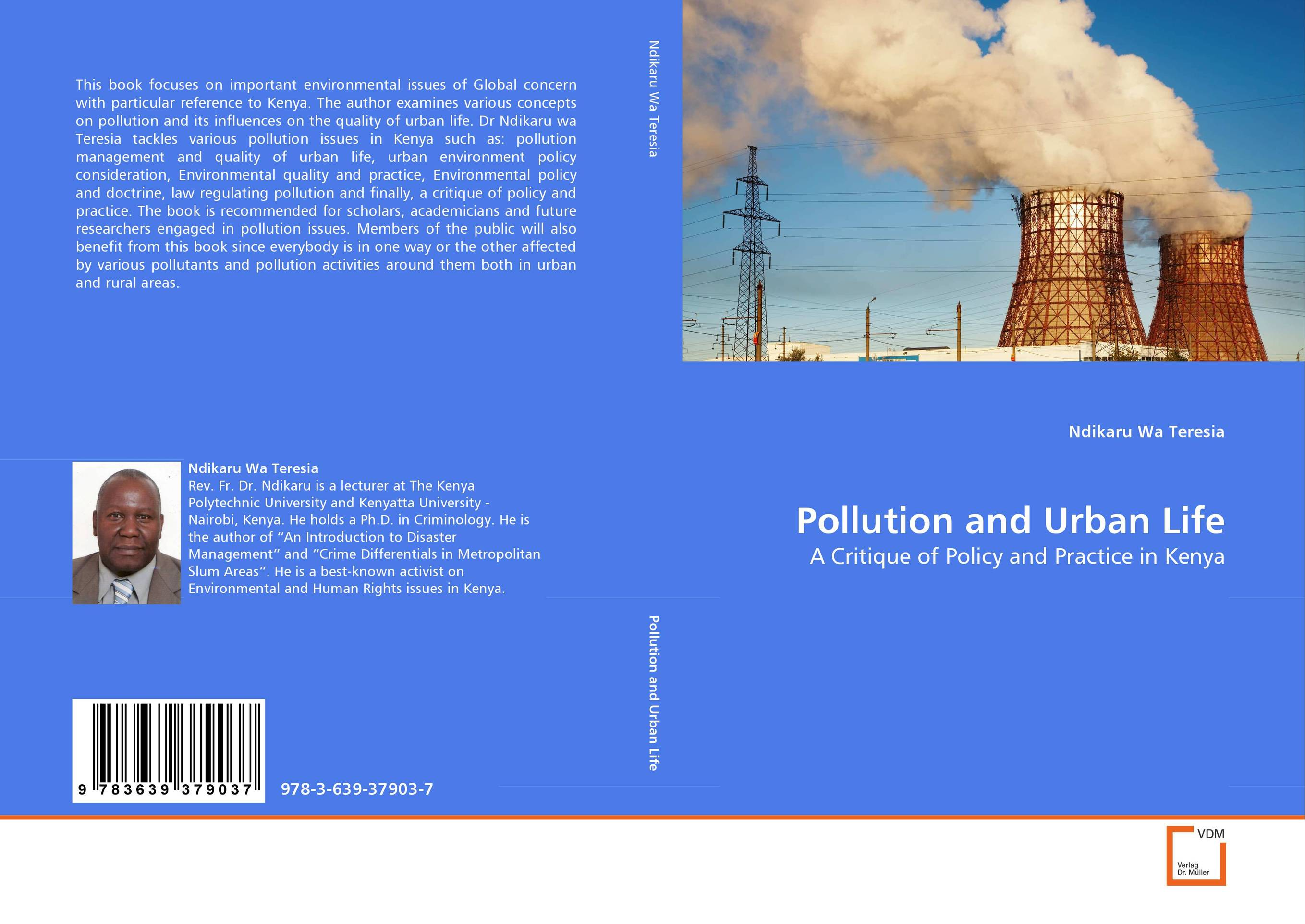 Pollution and Urban Life an introduction to environmental pollution