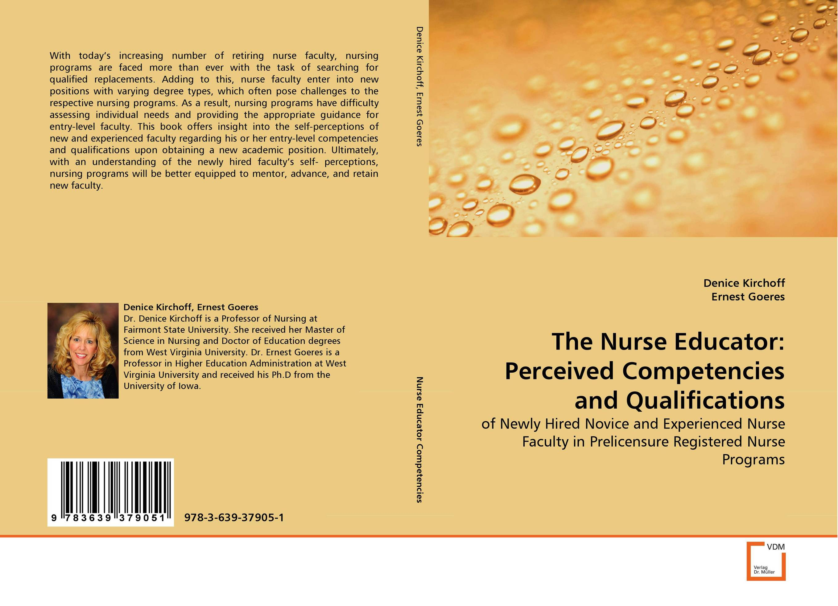 The Nurse Educator: Perceived Competencies and Qualifications