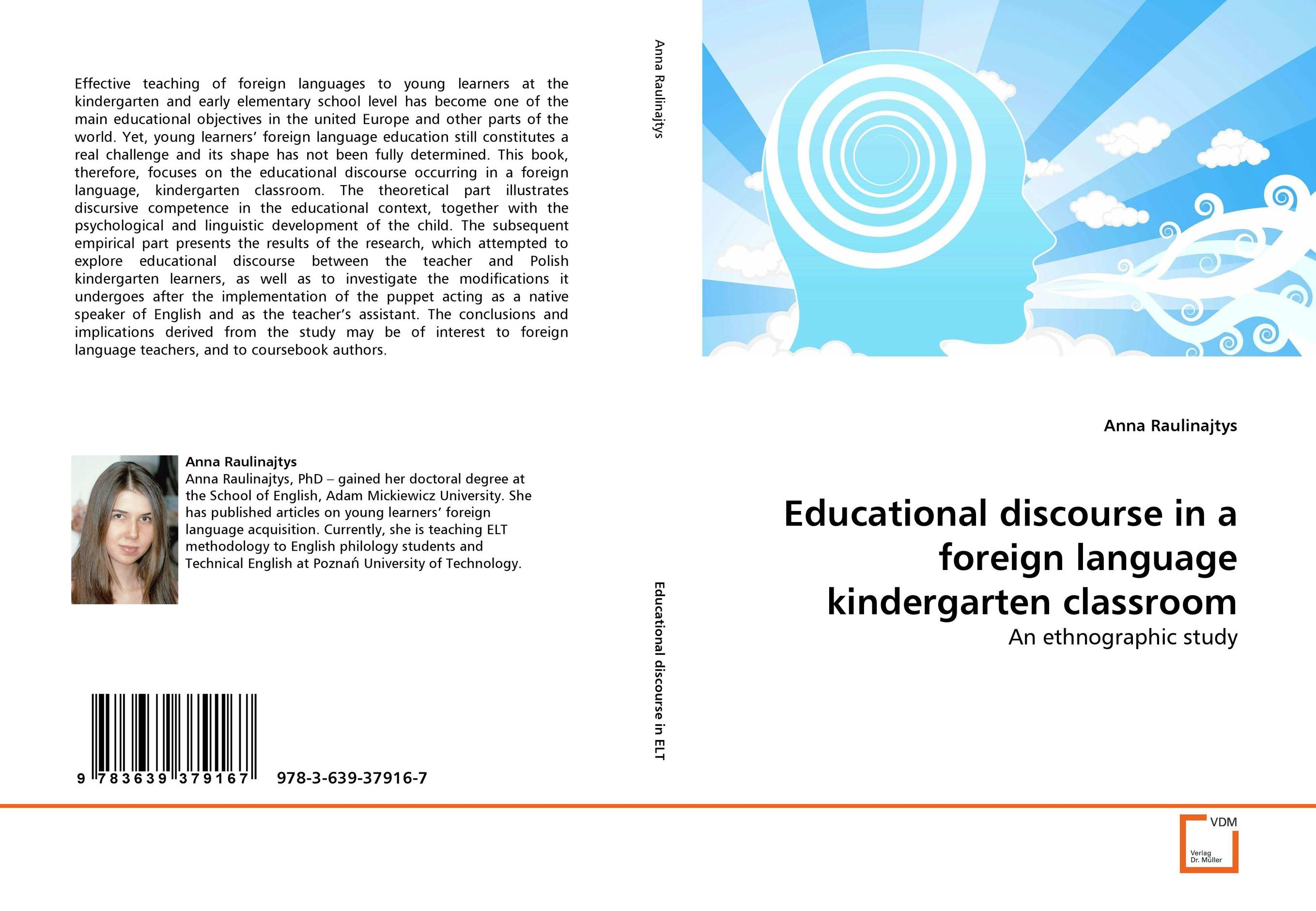 Educational discourse in a foreign language kindergarten classroom mona al smadi integrating children s literature at the kindergarten stage