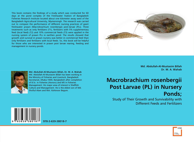 Macrobrachium rosenbergii Post Larvae (PL) in Nursery Ponds; microbial quality of freshwater prawn