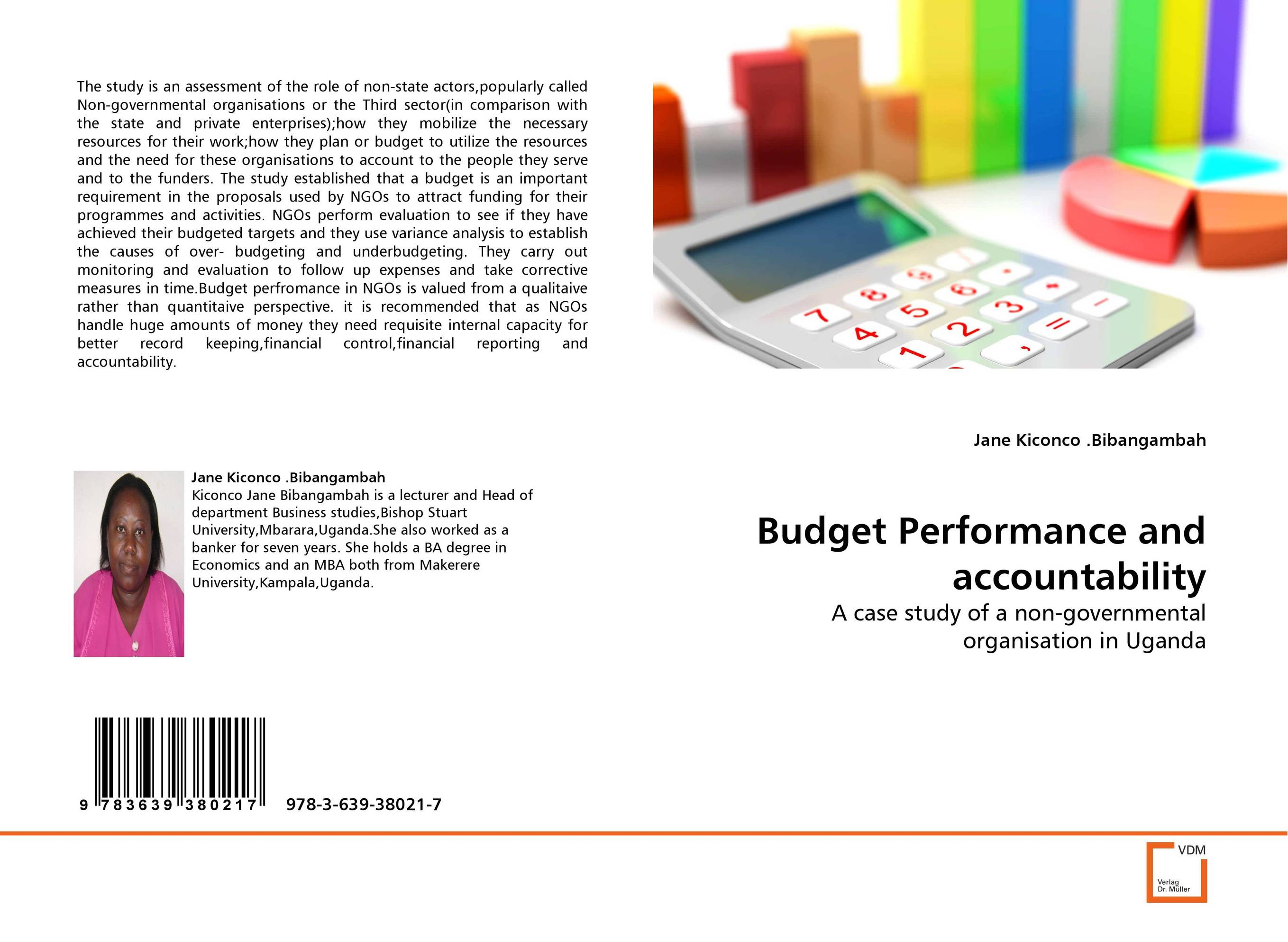 Budget Performance and accountability