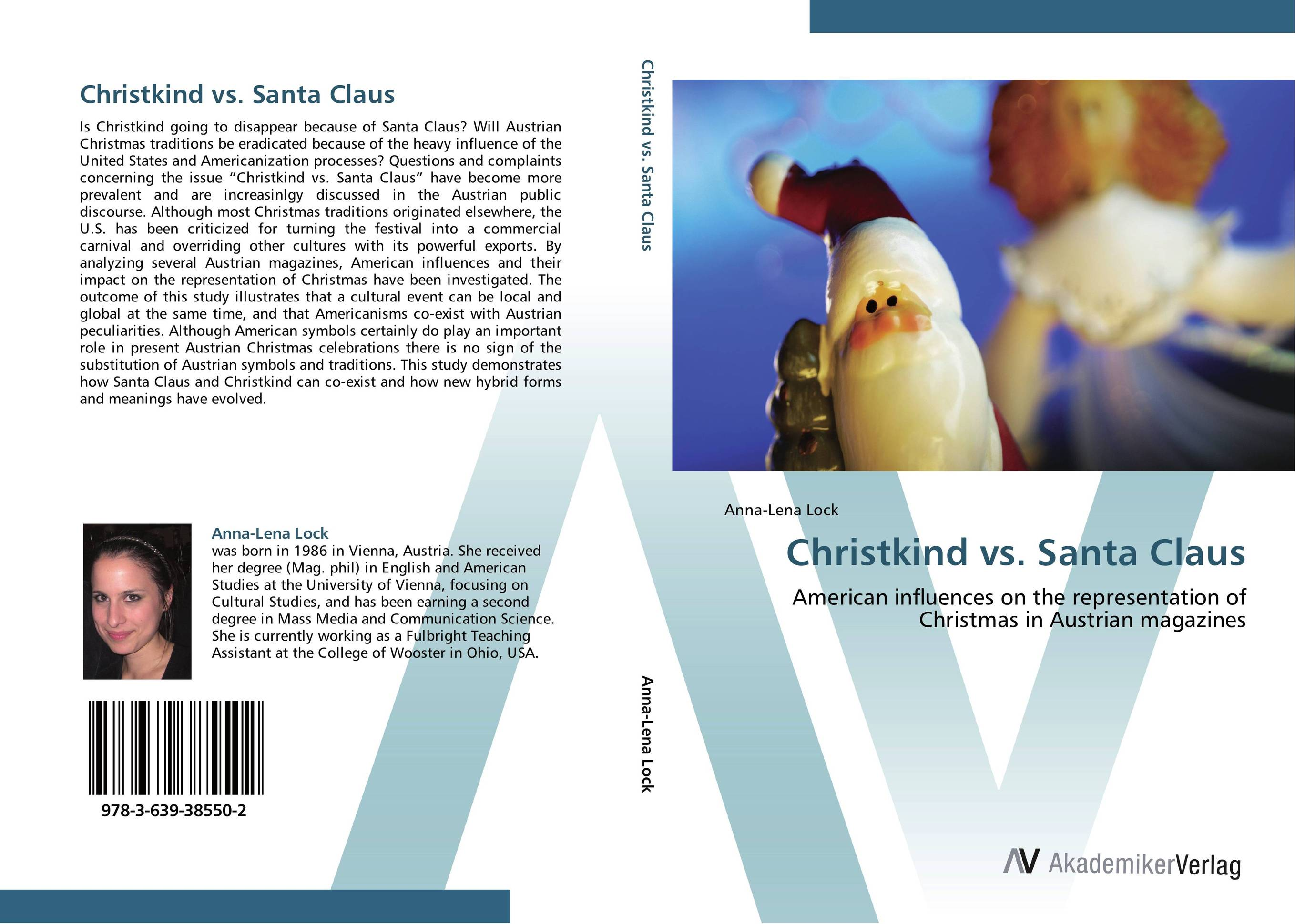 Christkind vs. Santa Claus the life and adventures of santa claus