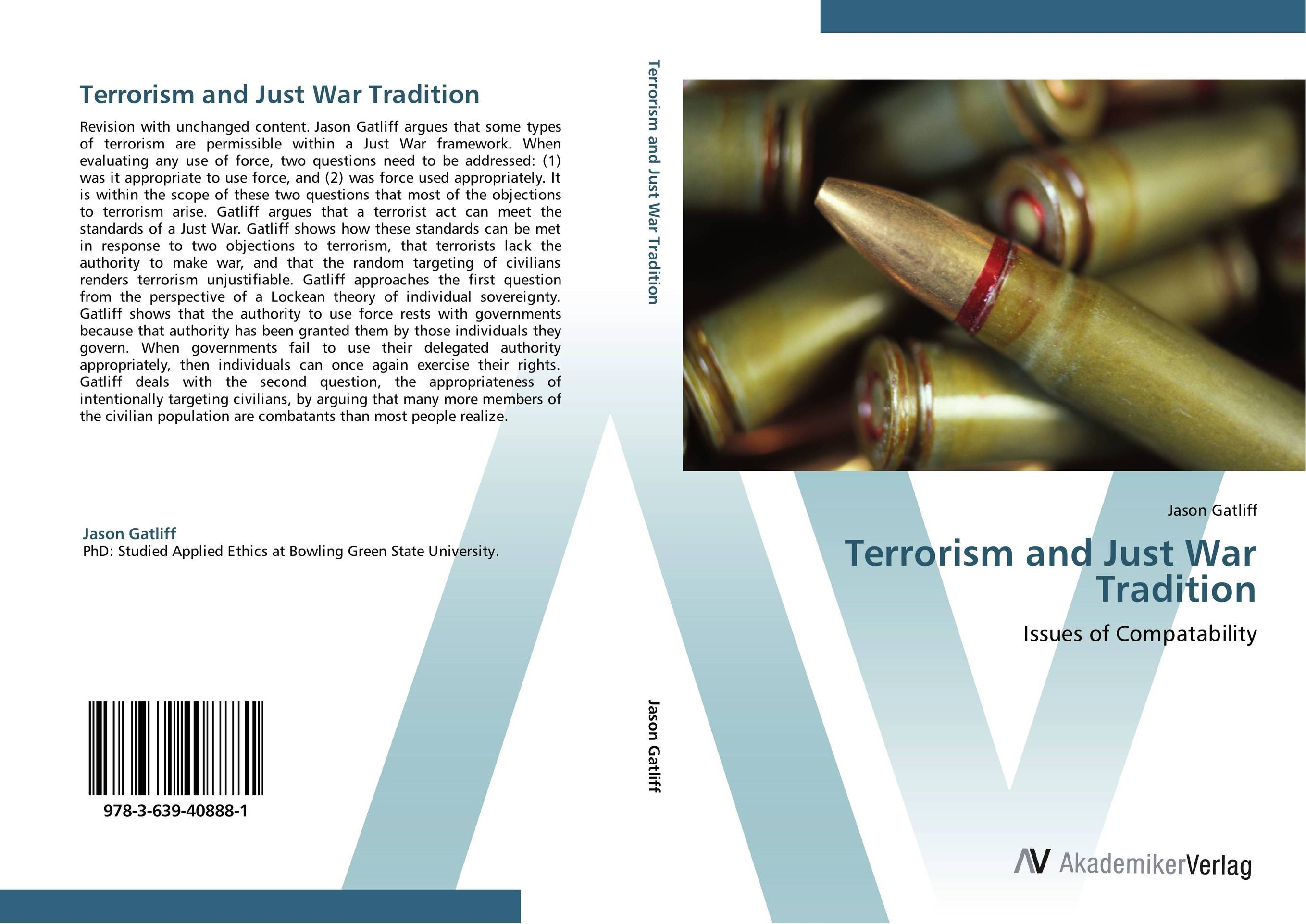 Terrorism and Just War Tradition