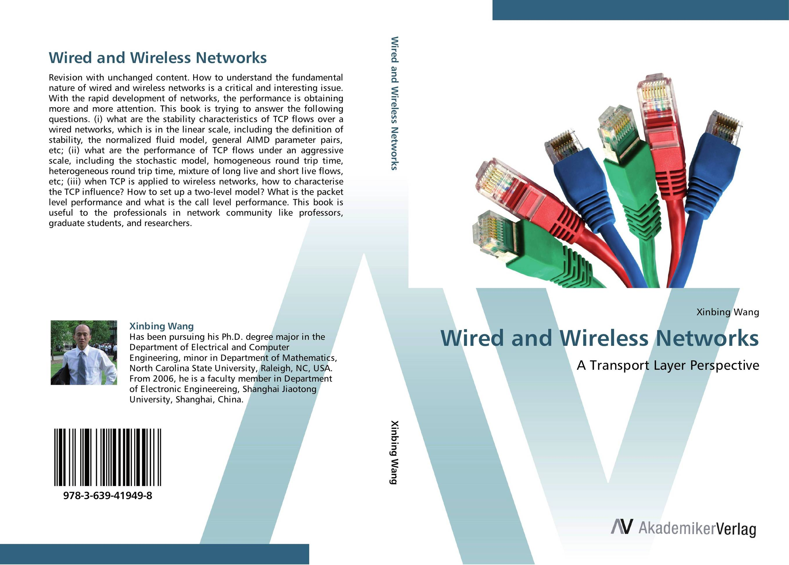 Wired and Wireless Networks mohammad usman ali khan optimization of tcp over wireless networks