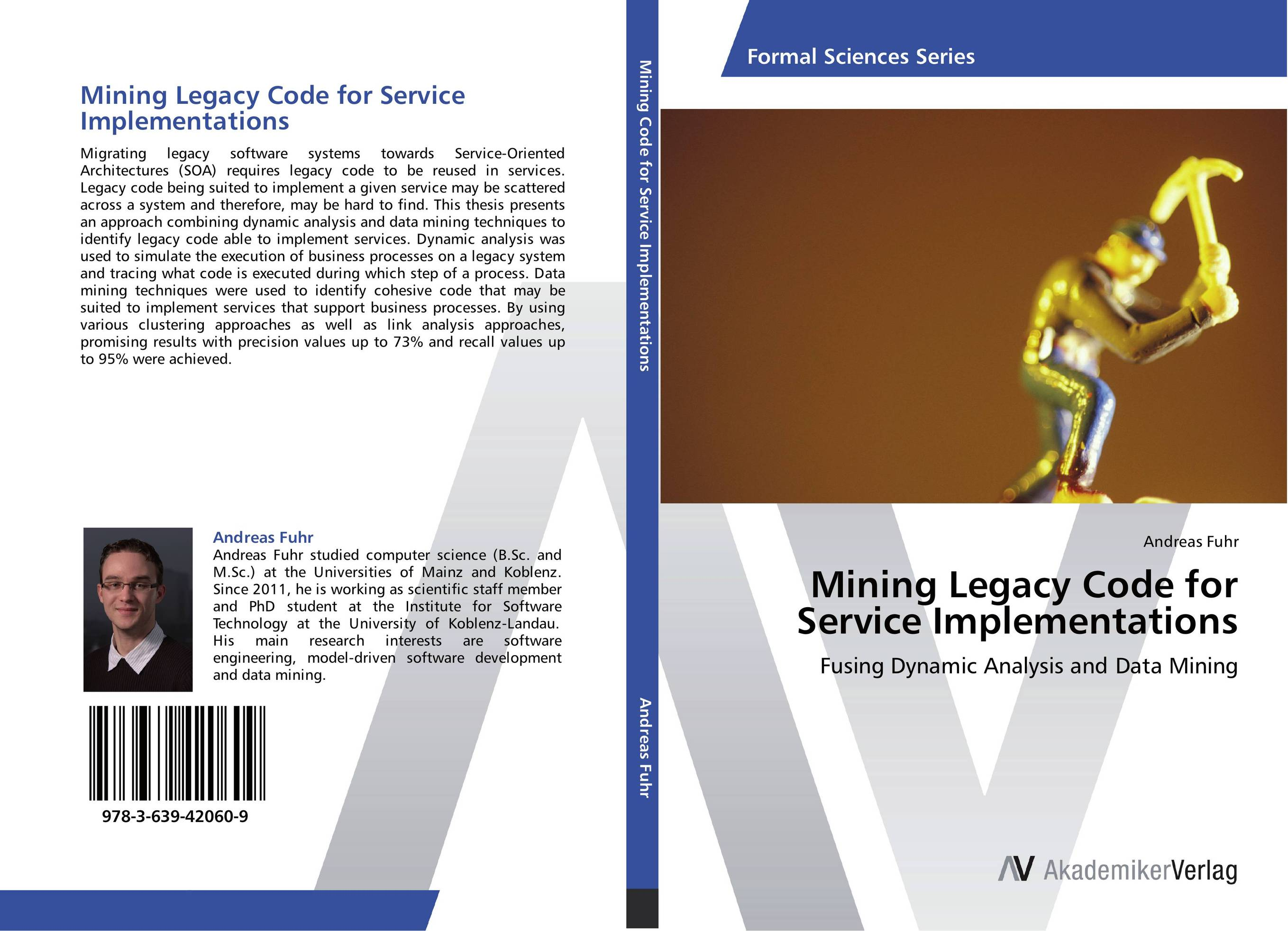Mining Legacy Code for Service Implementations migration of legacy system to service oriented architecture soa