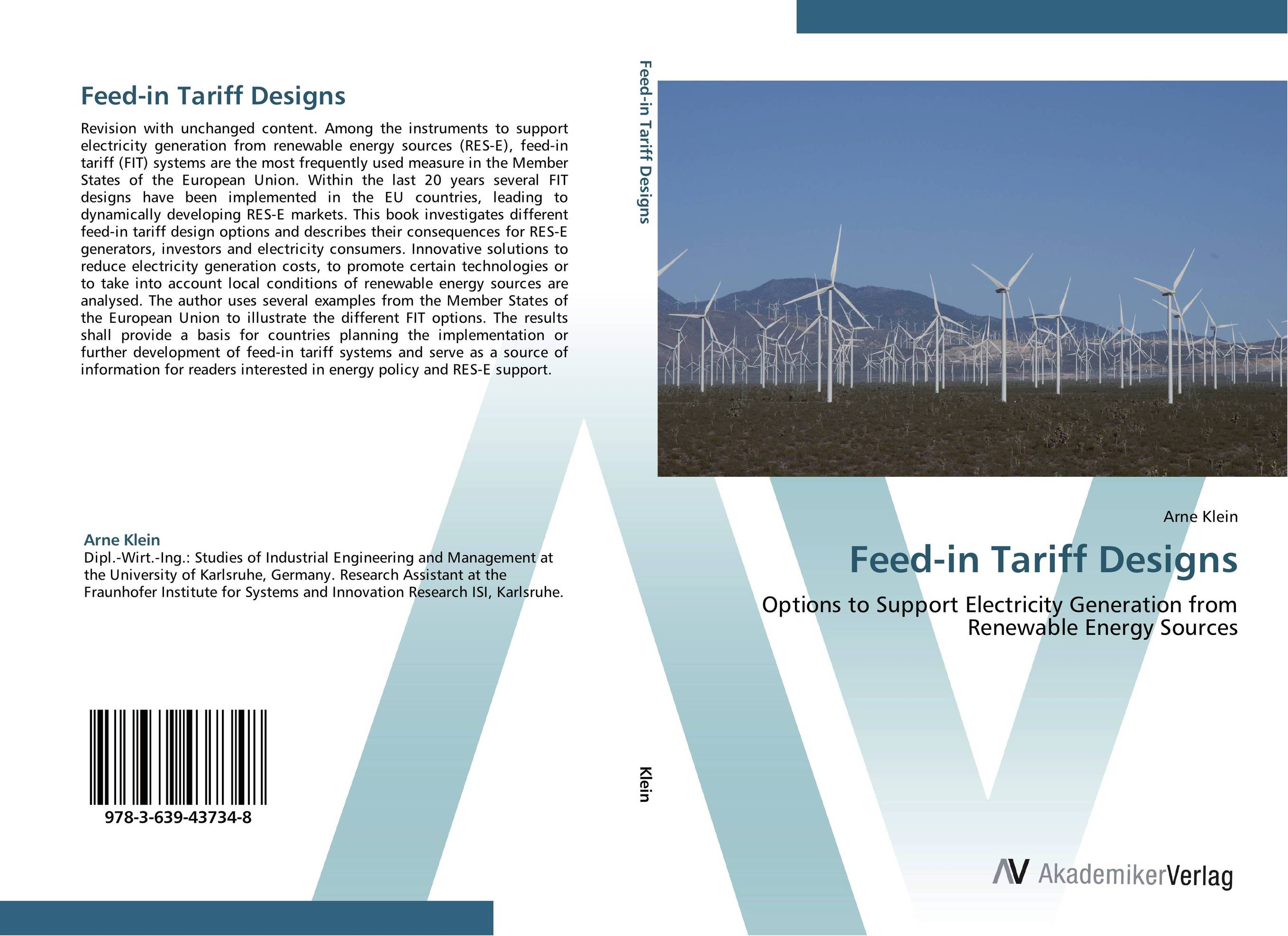 Feed-in Tariff Designs the valves are self acting i e they operate without the supply of auxiliary energy such as electricity or compressed air