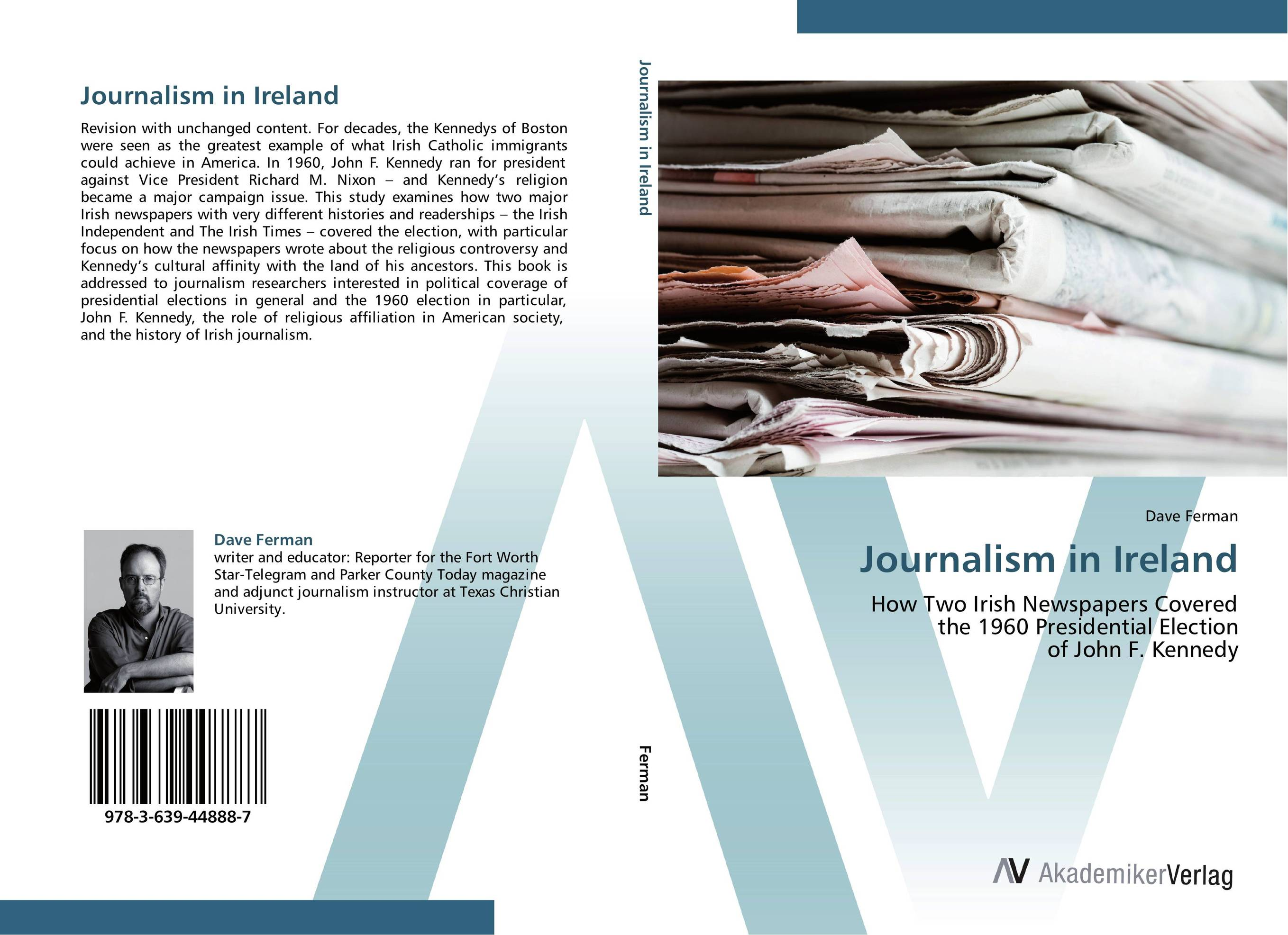 Journalism in Ireland hungering for america – italian irish