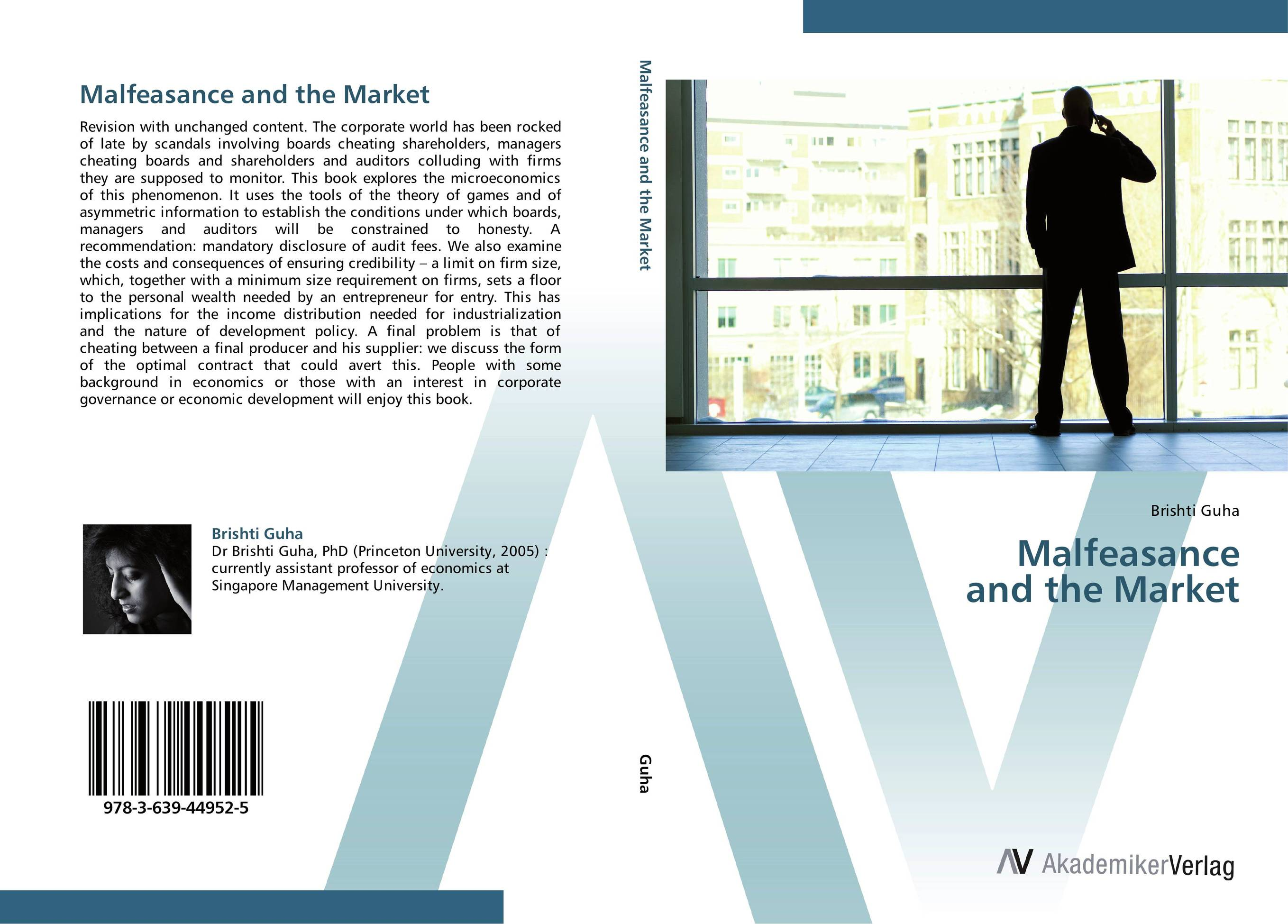 Malfeasance and the Market corporate governance and firm value