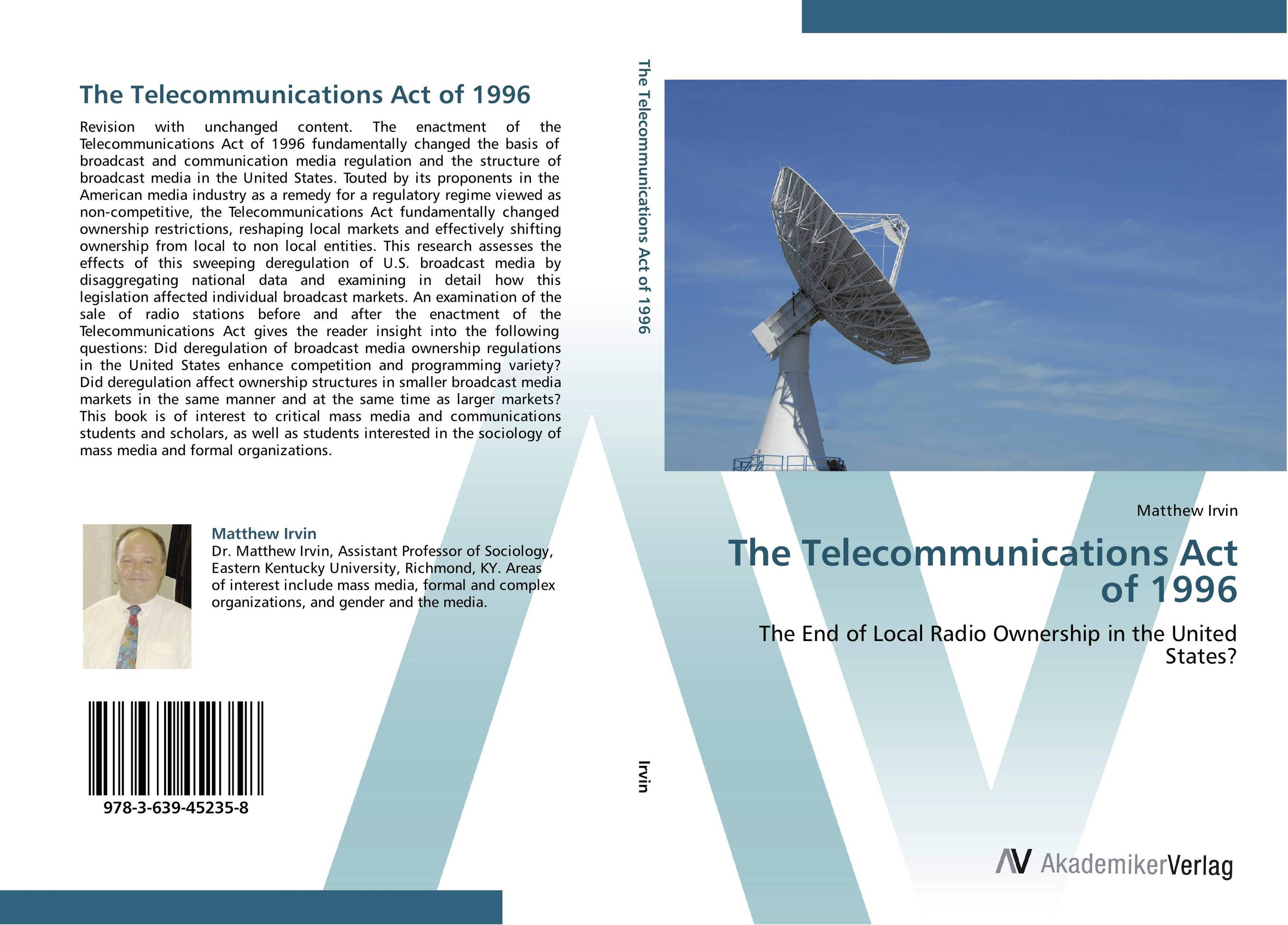 The Telecommunications Act of 1996 ingo vogelsang telecommunications competition – the last ten miles