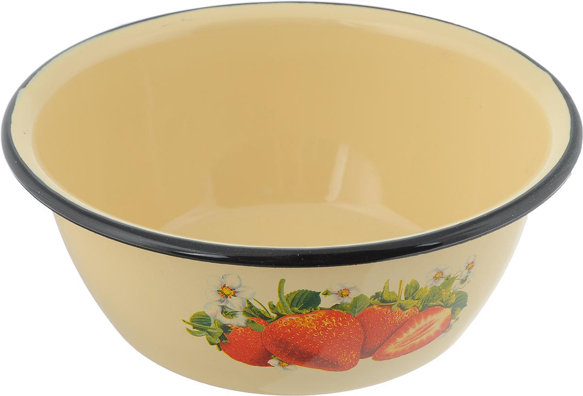 """Миска """"СтальЭмаль"""" изготовлена из стали, покрытой эмалью. Такое покрытие защищает сталь от коррозии, придает посуде гладкую стекловидную поверхность и надежно защищает от кислот и щелочей.  Миска подойдет для перемешивания продуктов, приготовления салатов и маринования мяса. Кроме того, изделие отлично подходит для приготовления пищи на природе. За счет ее компактного размера и формы миску удобно хранить в шкафу с другими кухонными принадлежностями.  Миска """"СтальЭмаль"""" станет незаменимым аксессуаром на кухне любой хозяйки.  Диаметр (по верхнему краю): 20 см.  Высота стенки: 8 см."""