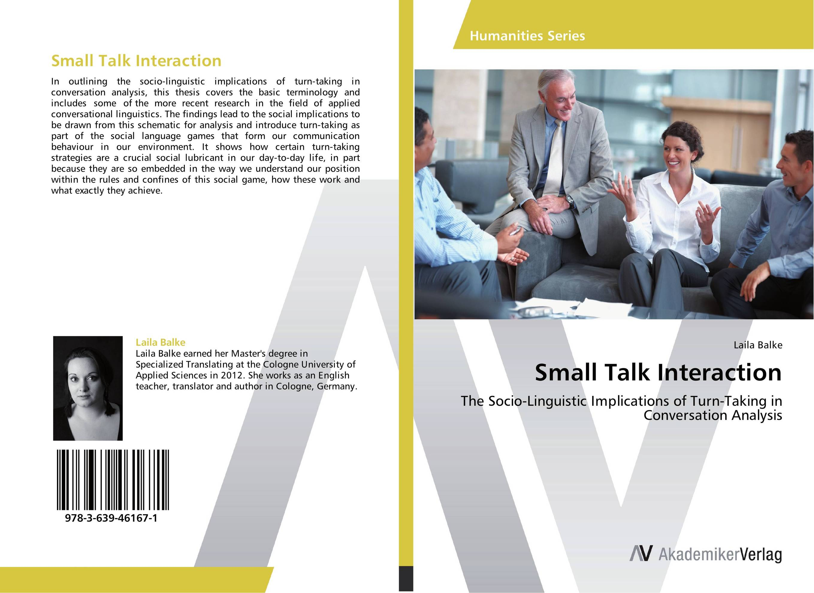 nonverbal communication and small talk Types of nonverbal communication here is a ted talk by julian treasure small group communication 81: introduction.