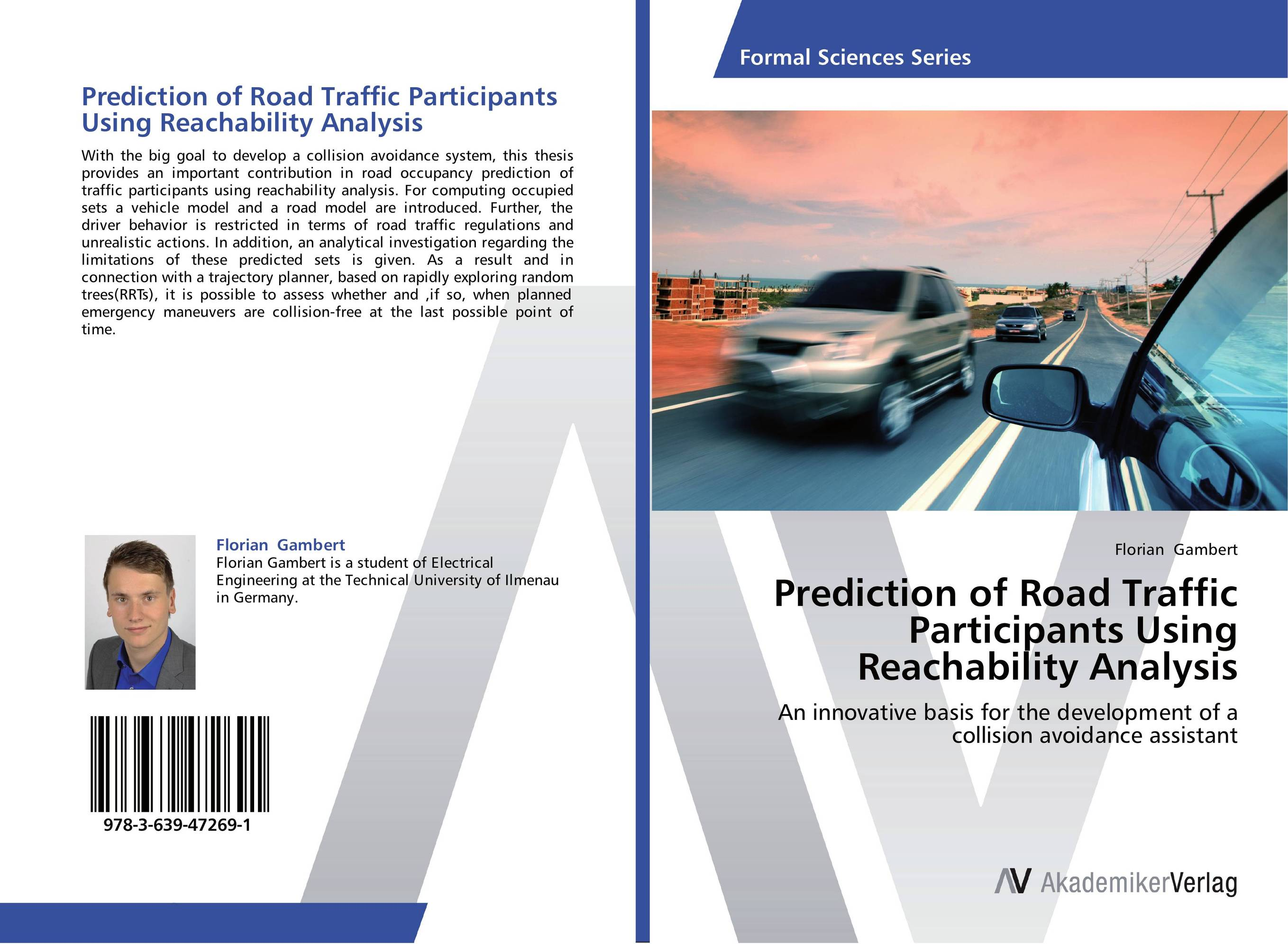 Prediction of Road Traffic Participants Using Reachability Analysis risk analysis study of maritime traffic