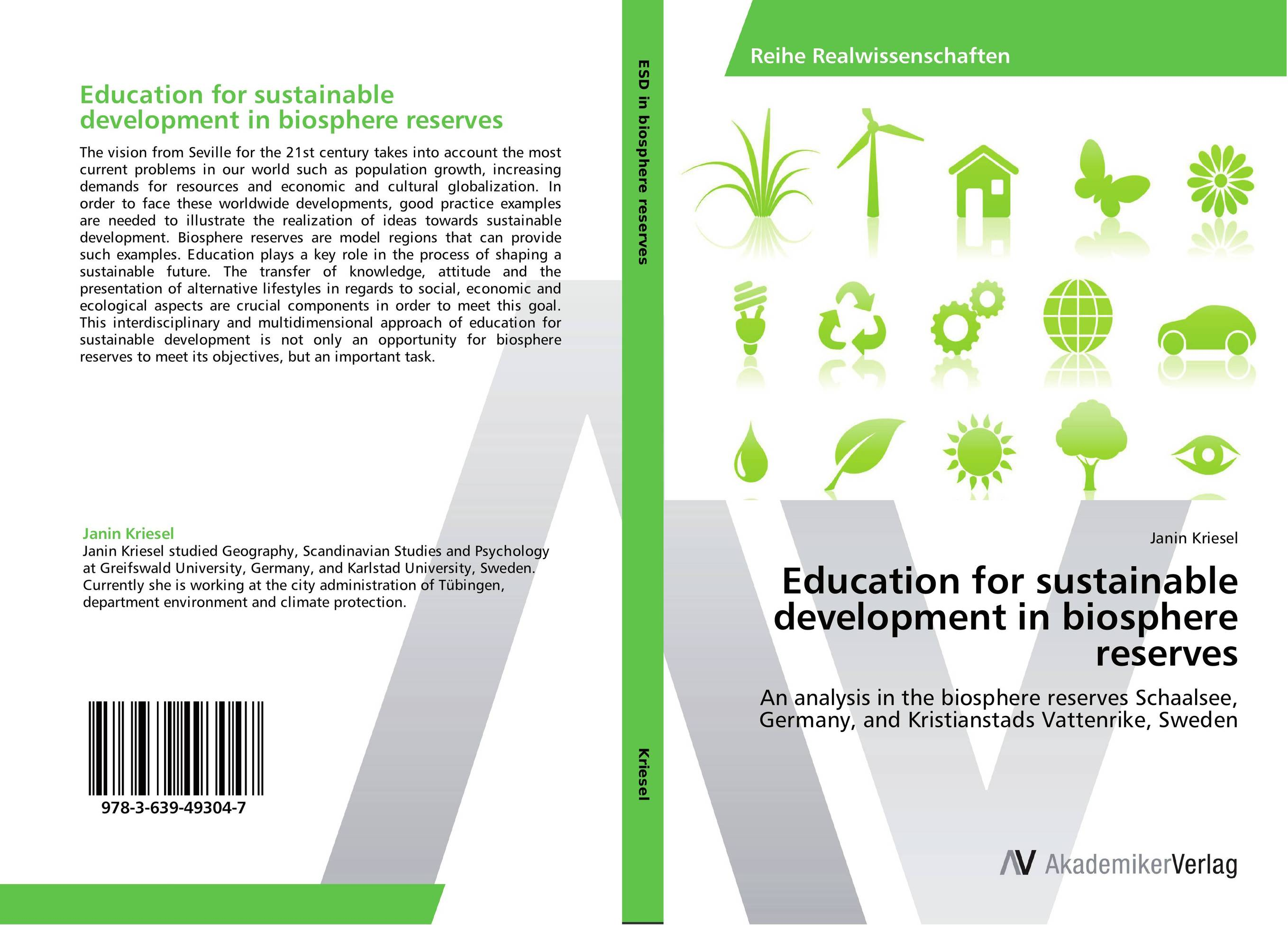Education for sustainable development in biosphere reserves biotechnology for biofuel renewable and sustainable development