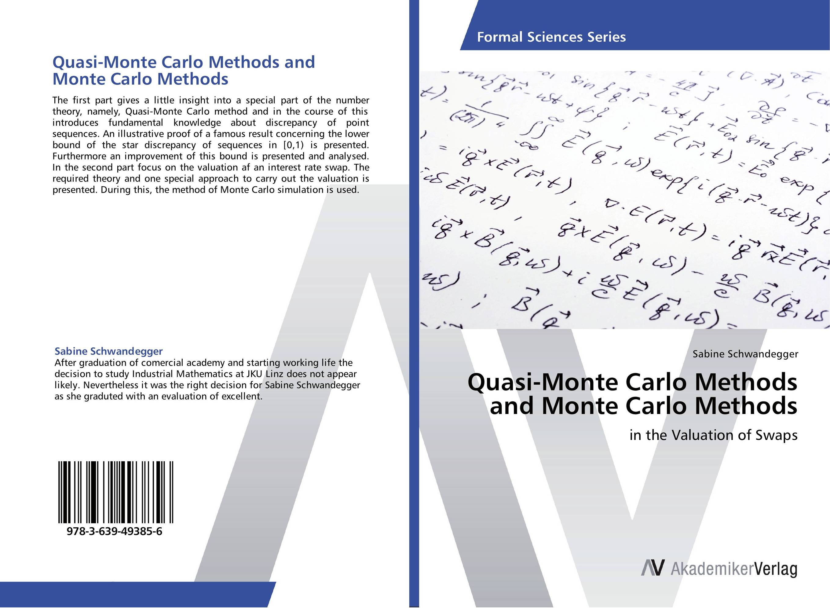 Quasi-Monte Carlo Methods and Monte Carlo Methods monte carlo techniques for electron radiotherapy