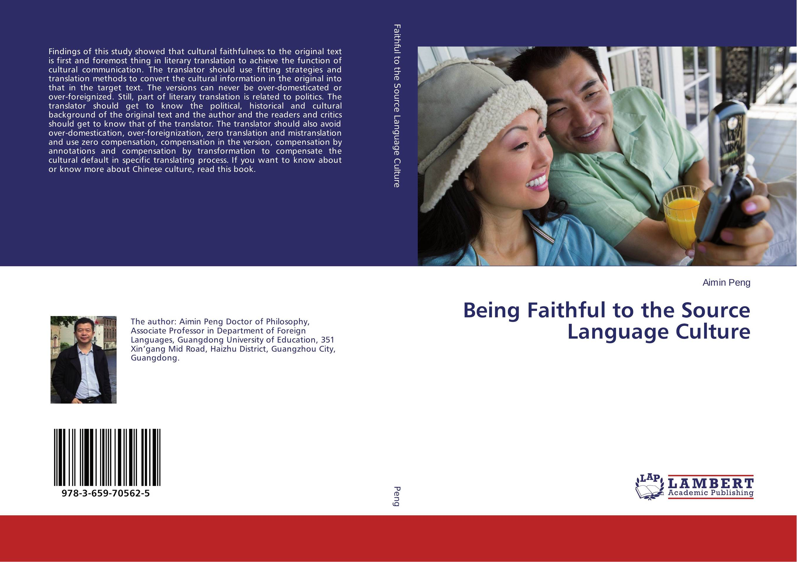 Being Faithful to the Source Language Culture the translation of figurative language