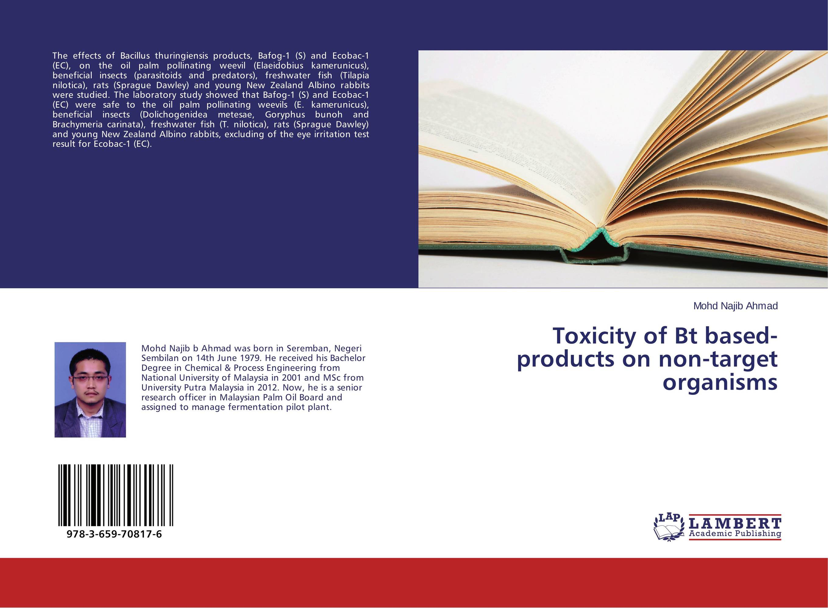 Toxicity of Bt based-products on non-target organisms selected beneficial and harmful insects of indian subcontinent