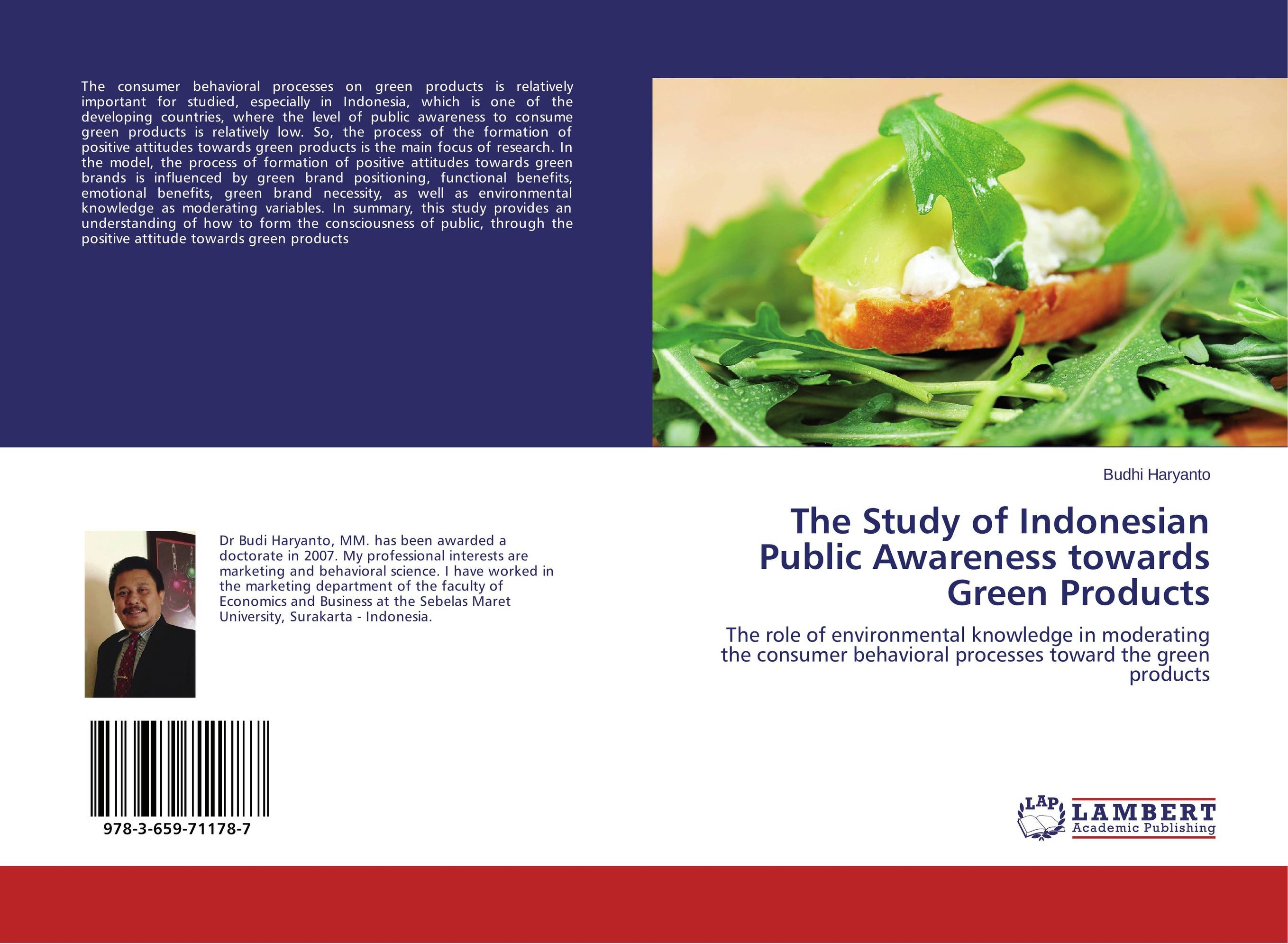 The Study of Indonesian Public Awareness towards Green Products the study of indonesian public awareness towards green products