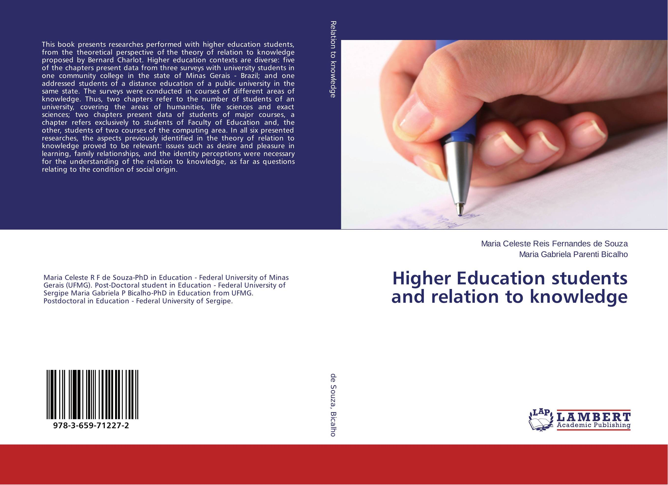 Higher Education students and relation to knowledge peace education at the national university of rwanda