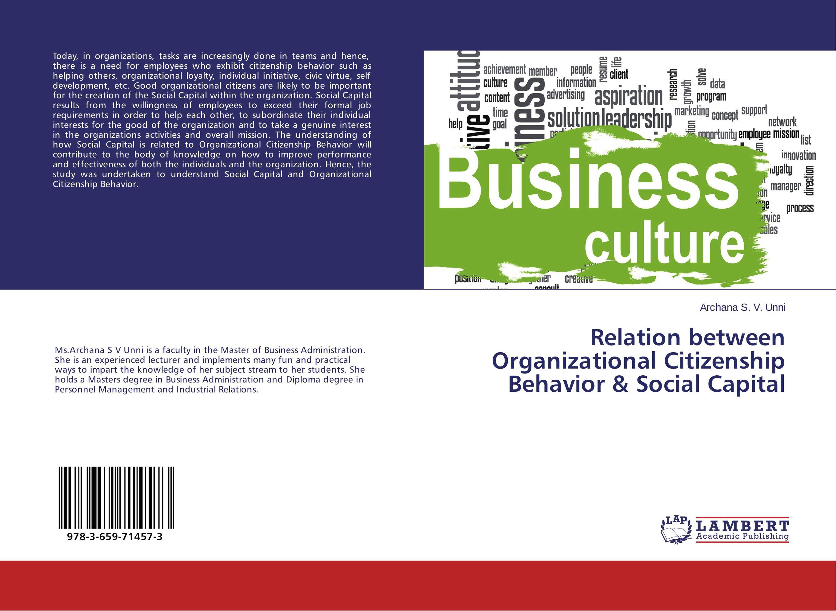 Relation between Organizational Citizenship Behavior & Social Capital social distortion social distortion somewhere between heaven and hell lp
