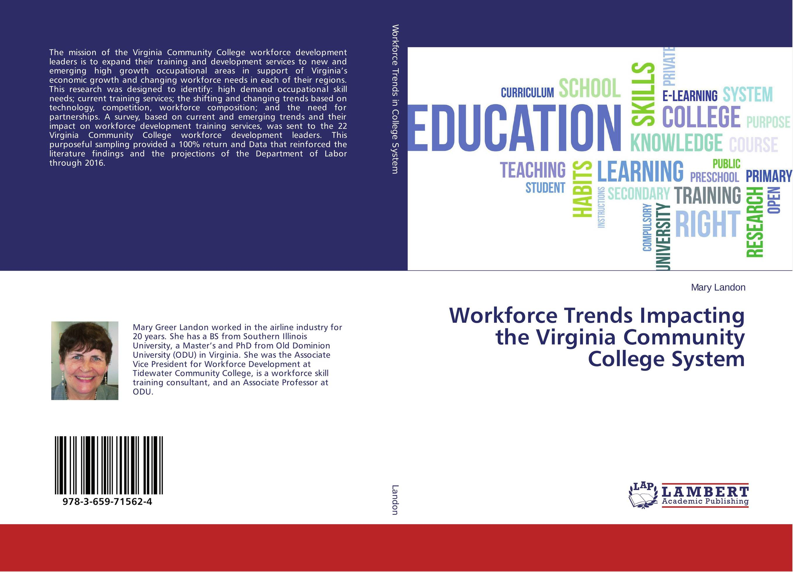 Workforce Trends Impacting the Virginia Community College System
