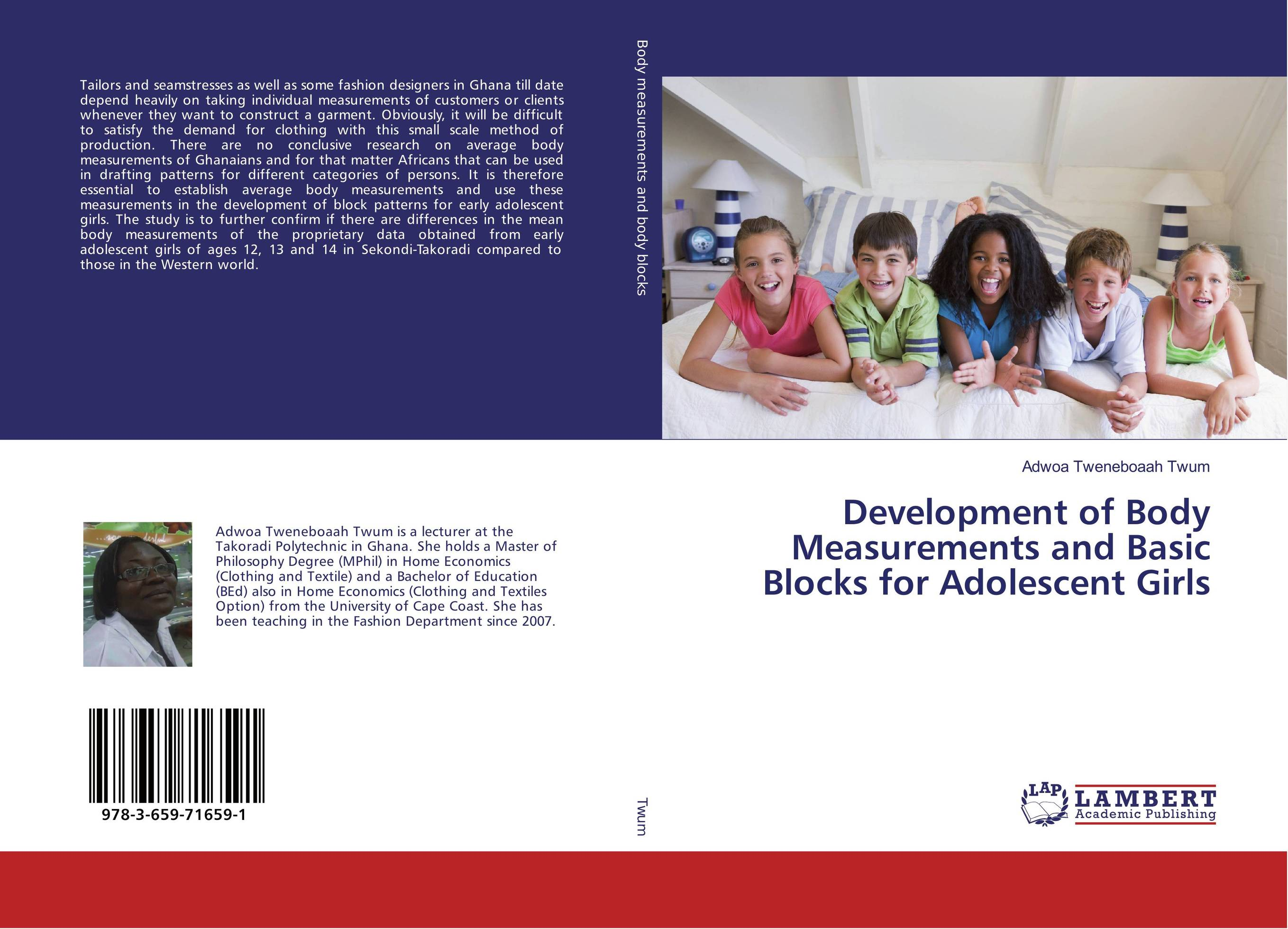 Development of Body Measurements and Basic Blocks for Adolescent Girls