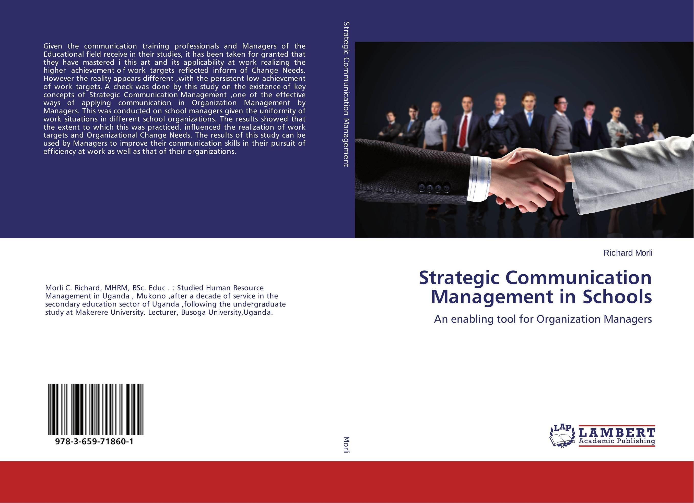 Strategic Communication Management in Schools