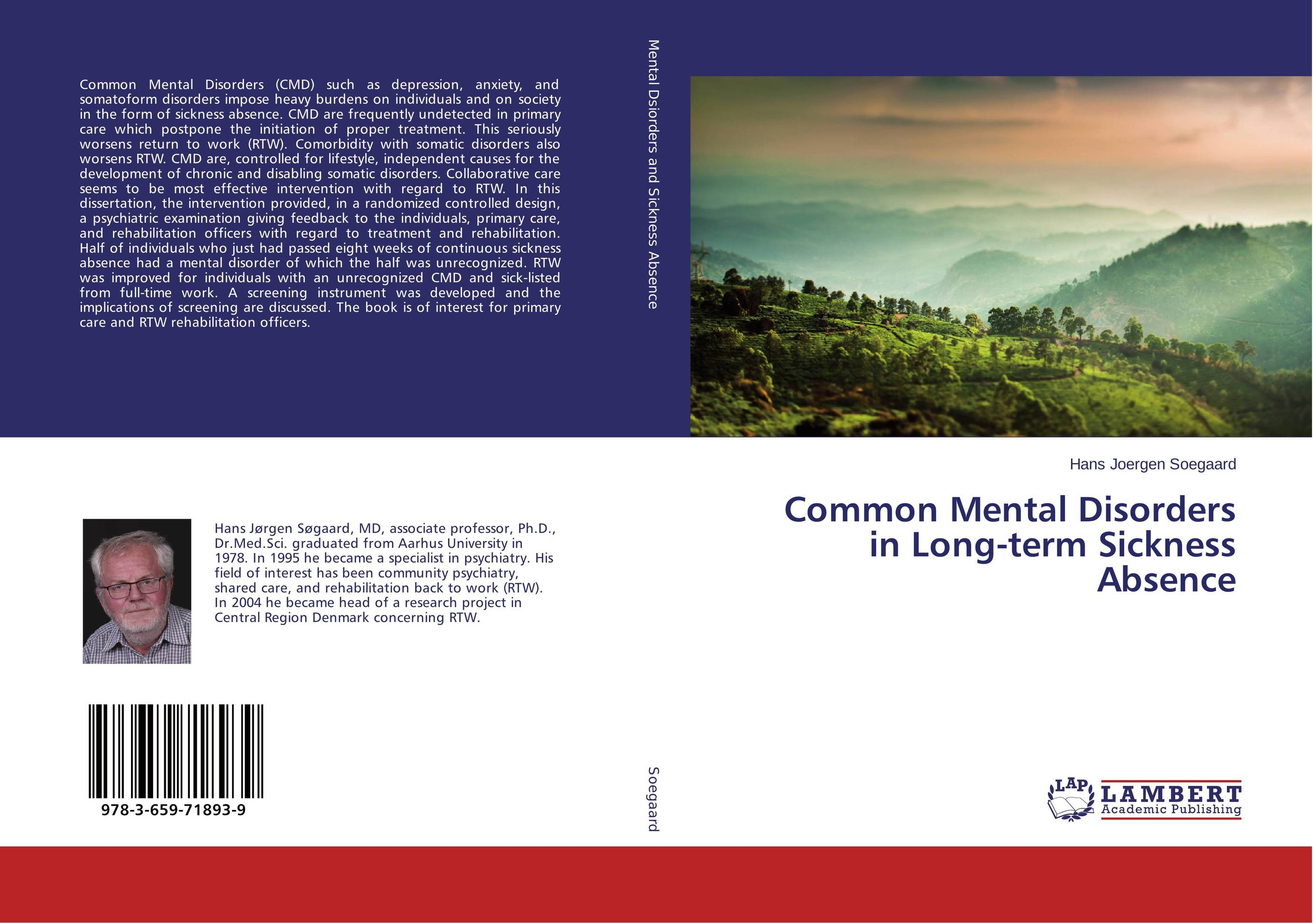 Common Mental Disorders in Long-term Sickness Absence psychiatric consultation in long term care