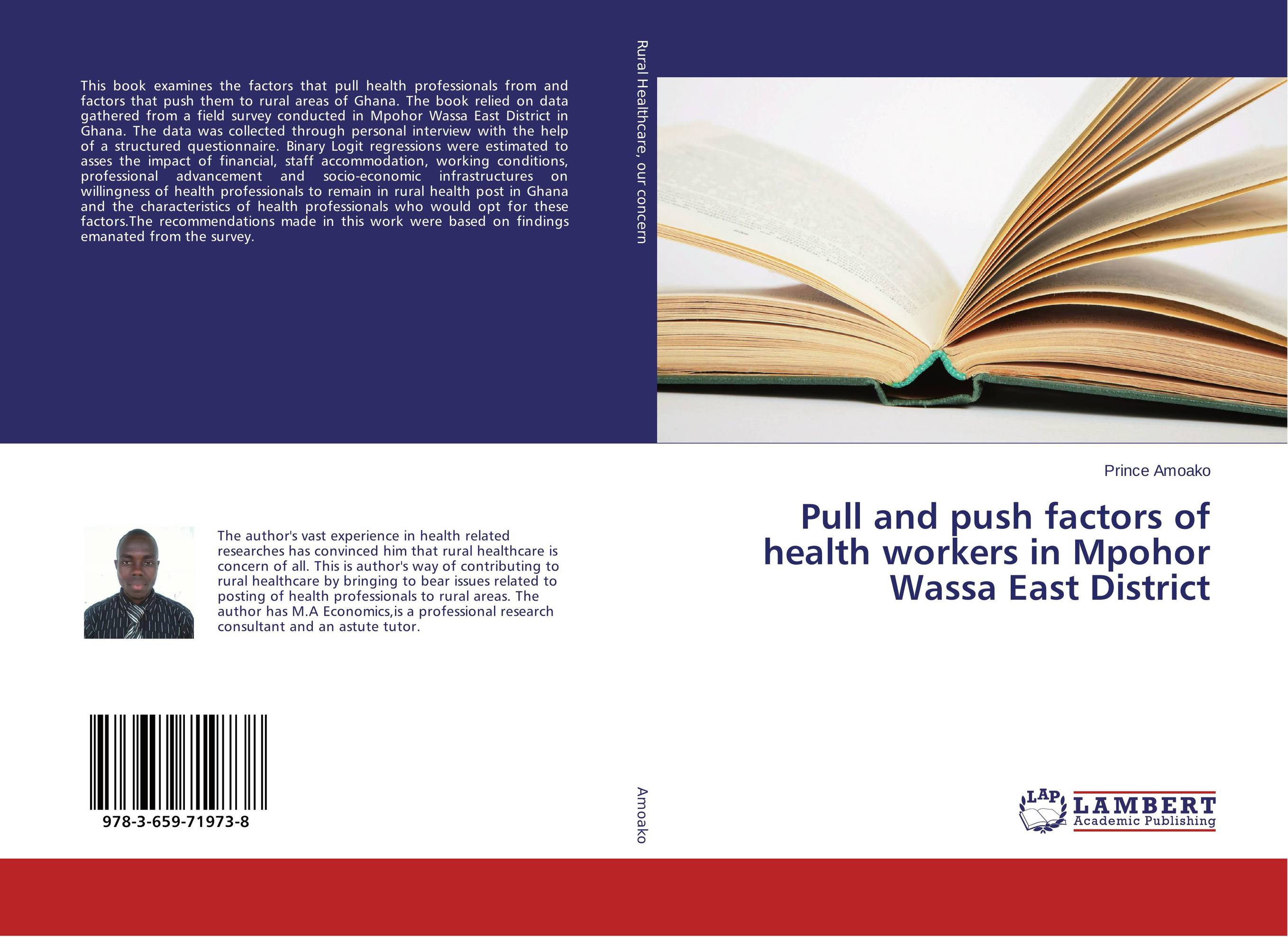 Pull and push factors of health workers in Mpohor Wassa East District