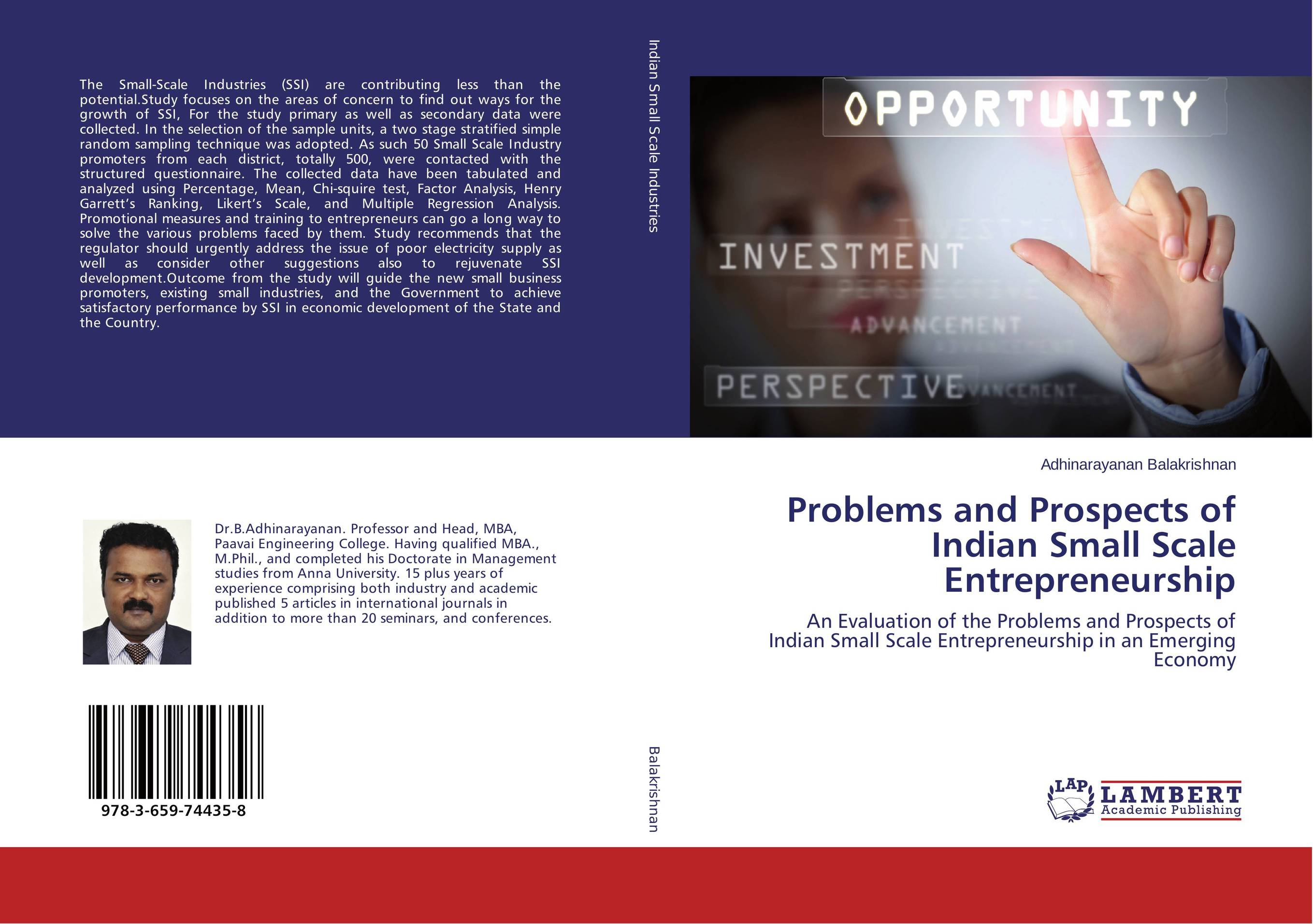 Problems and Prospects of Indian Small Scale Entrepreneurship problems and prospects of women entrepreneurs