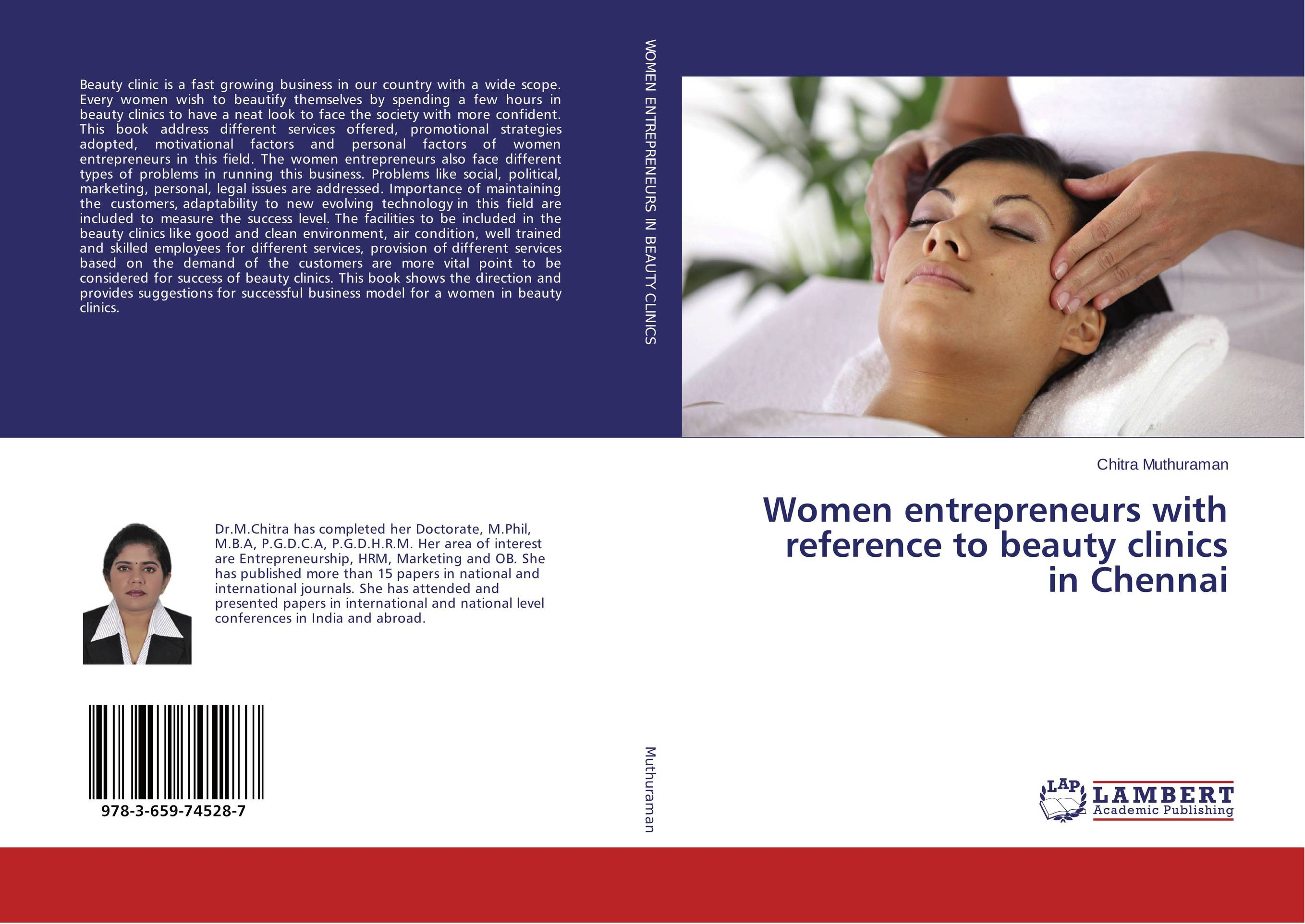 Women entrepreneurs with reference to beauty clinics in Chennai
