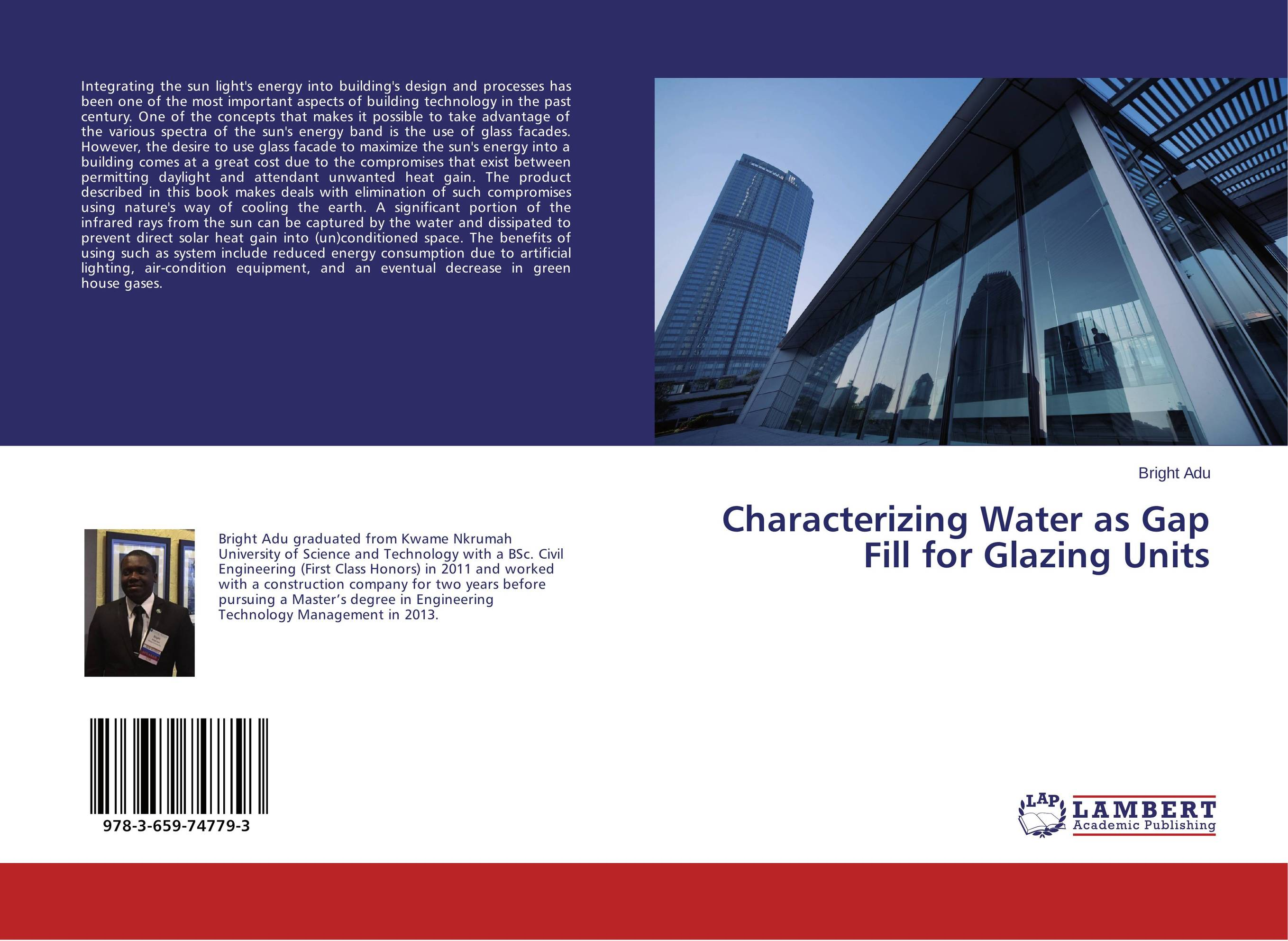 Characterizing Water as Gap Fill for Glazing Units банан шт such as water 100g3