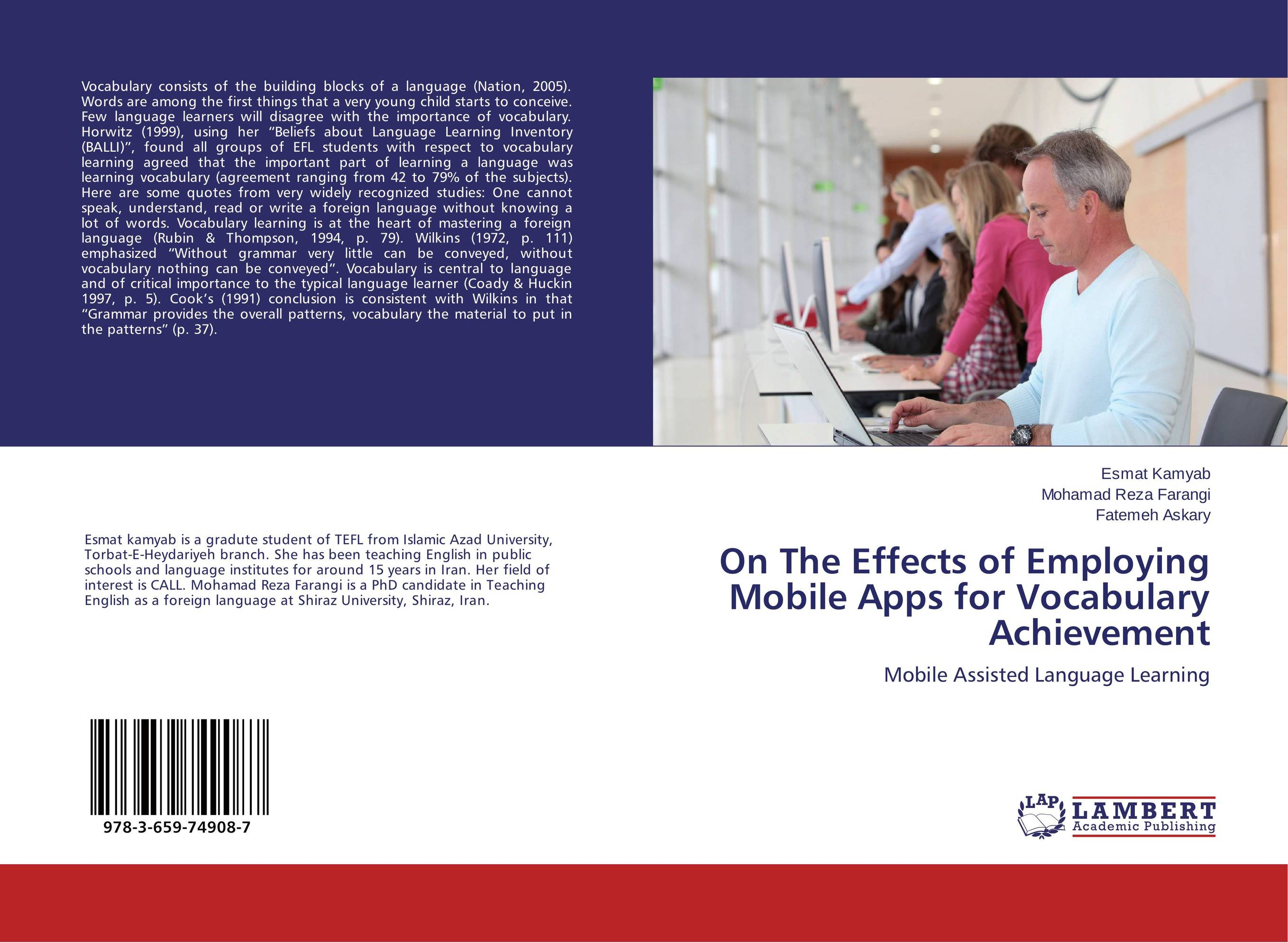 On The Effects of Employing Mobile Apps for Vocabulary Achievement strategic vocabulary learning