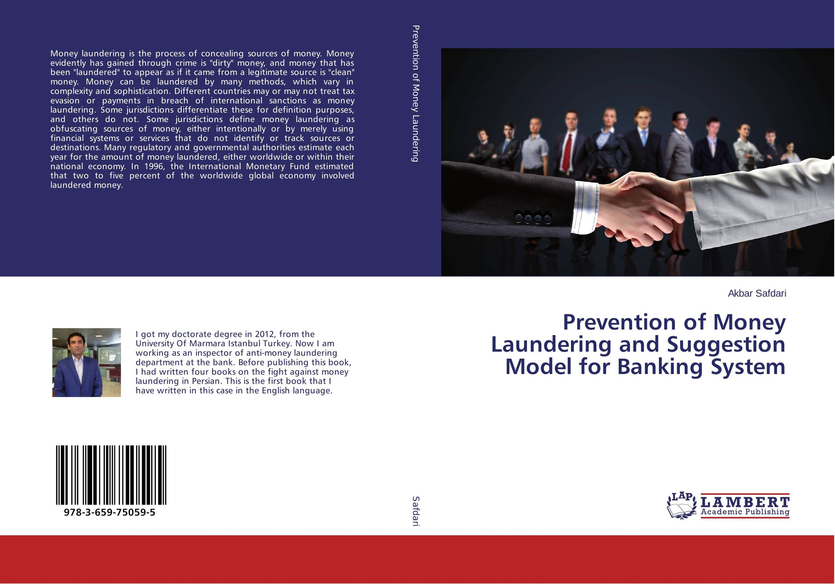 цена на Prevention of Money Laundering and Suggestion Model for Banking System
