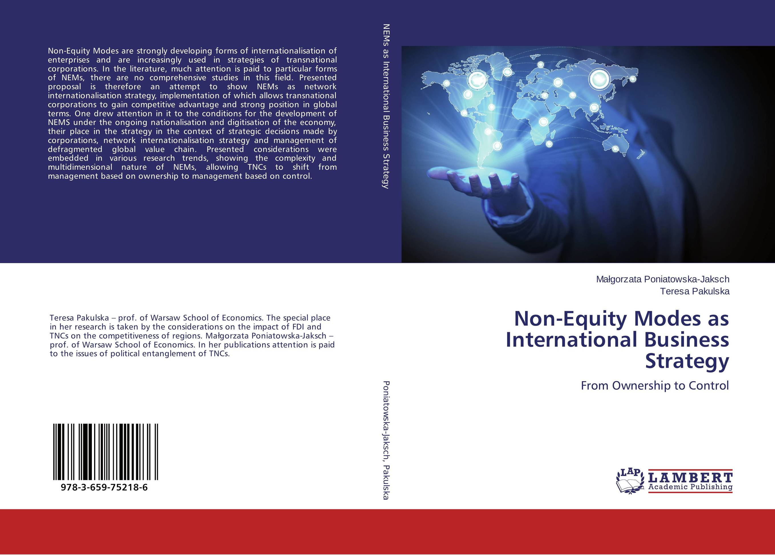 Non-Equity Modes as International Business Strategy global and transnational business strategy and management page 2