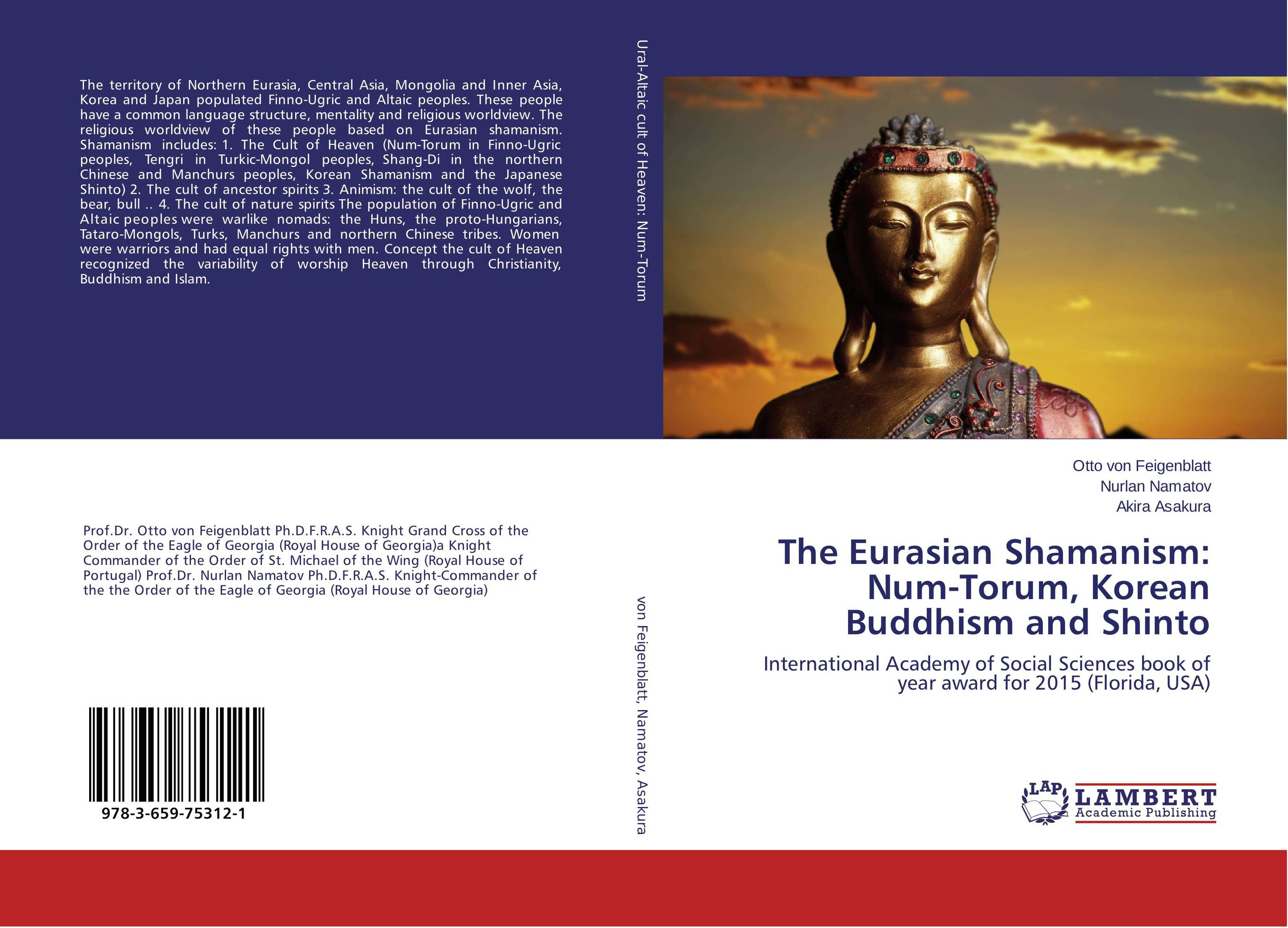 The Eurasian Shamanism: Num-Torum, Korean Buddhism and Shinto cult of wolf and world tree in eurasian and american native peoples