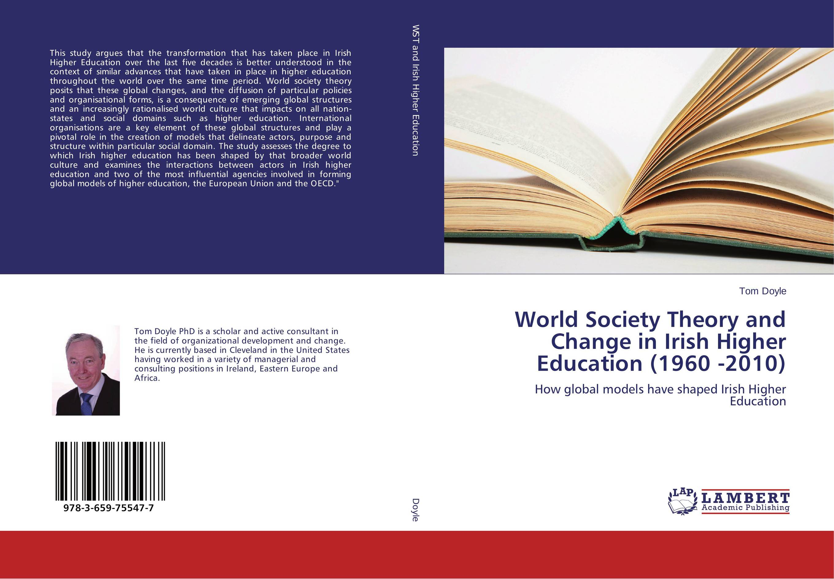World Society Theory and Change in Irish Higher Education (1960 -2010) сысоев п сысоева л issues in us culture and society амер культура и общество