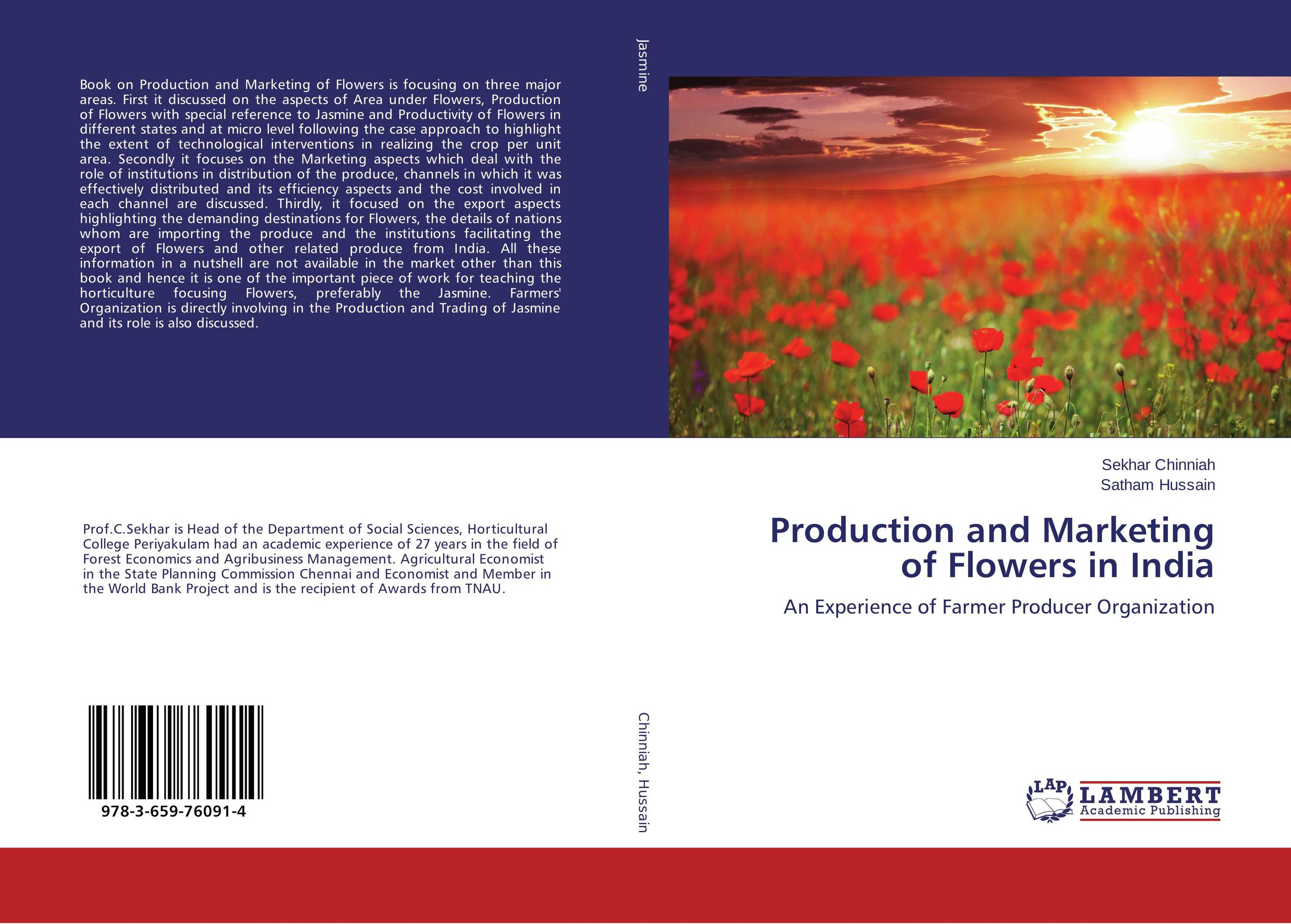 Production and Marketing of Flowers in India