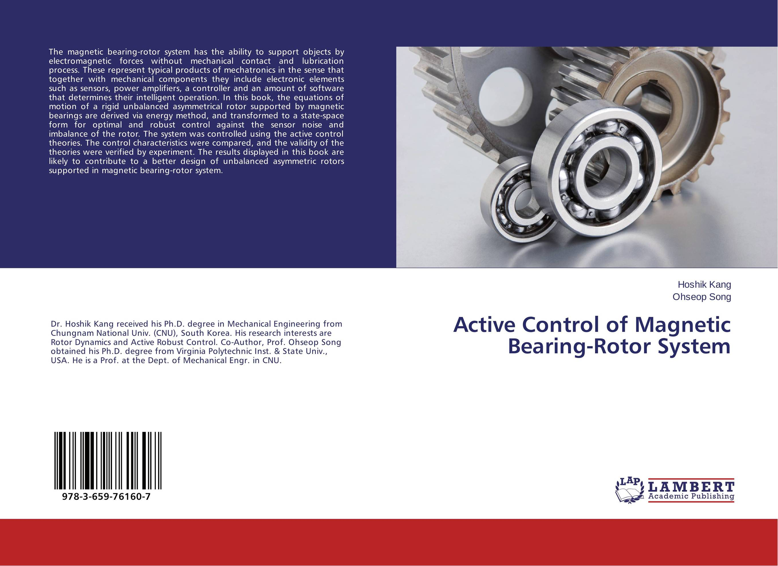 Active Control of Magnetic Bearing-Rotor System robust control algorithms for twin rotor system