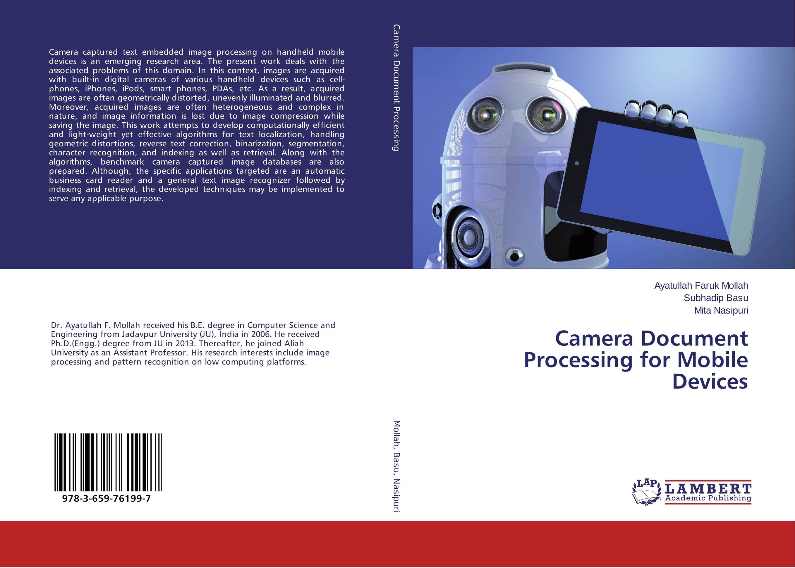 Camera Document Processing for Mobile Devices