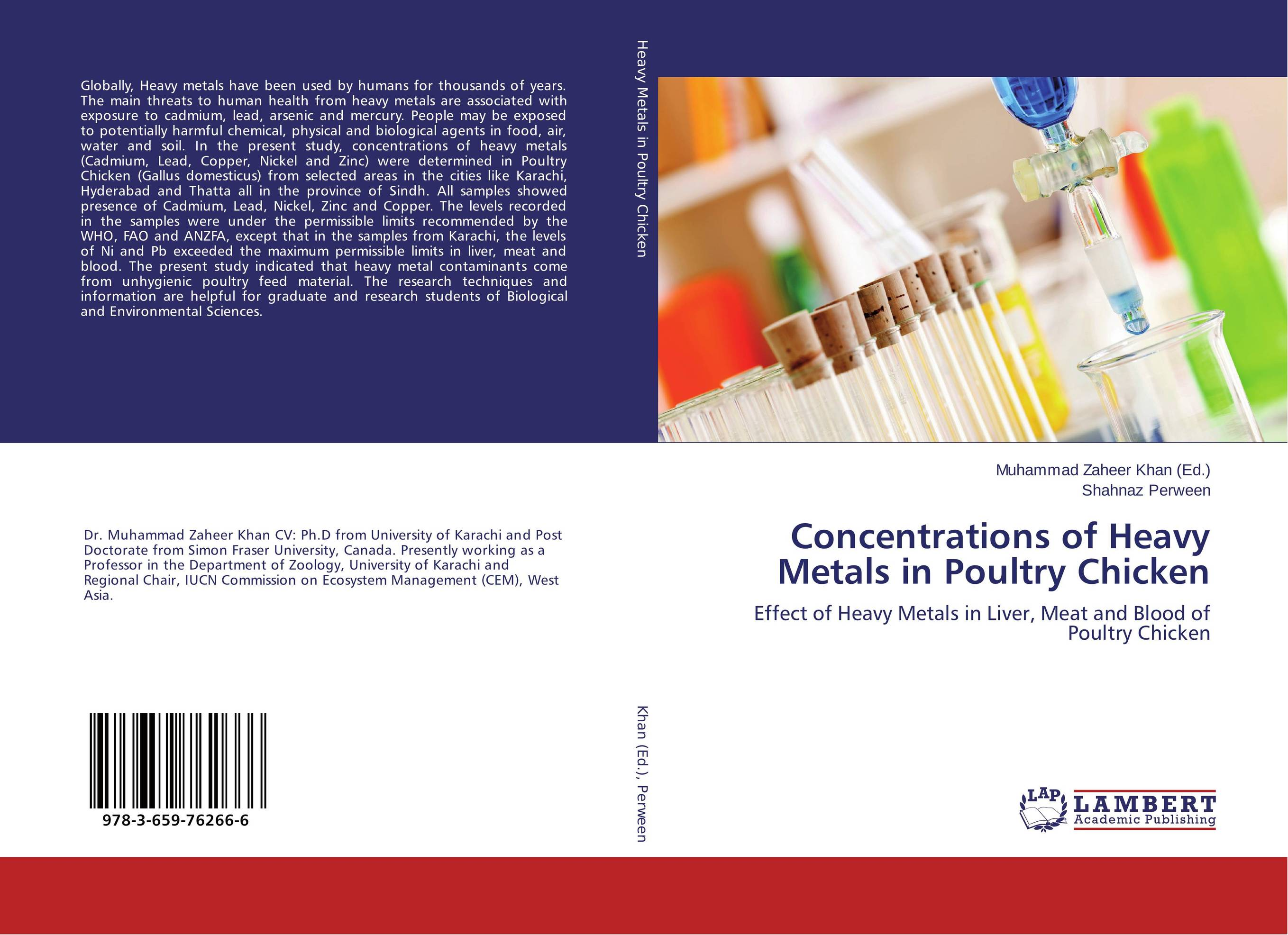 Concentrations of Heavy Metals in Poultry Chicken