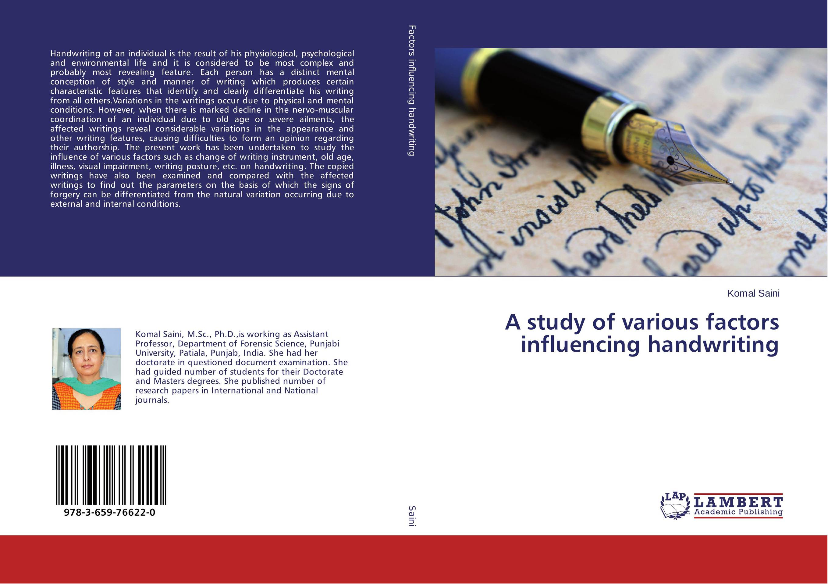 A study of various factors influencing handwriting belousov a security features of banknotes and other documents methods of authentication manual денежные билеты бланки ценных бумаг и документов