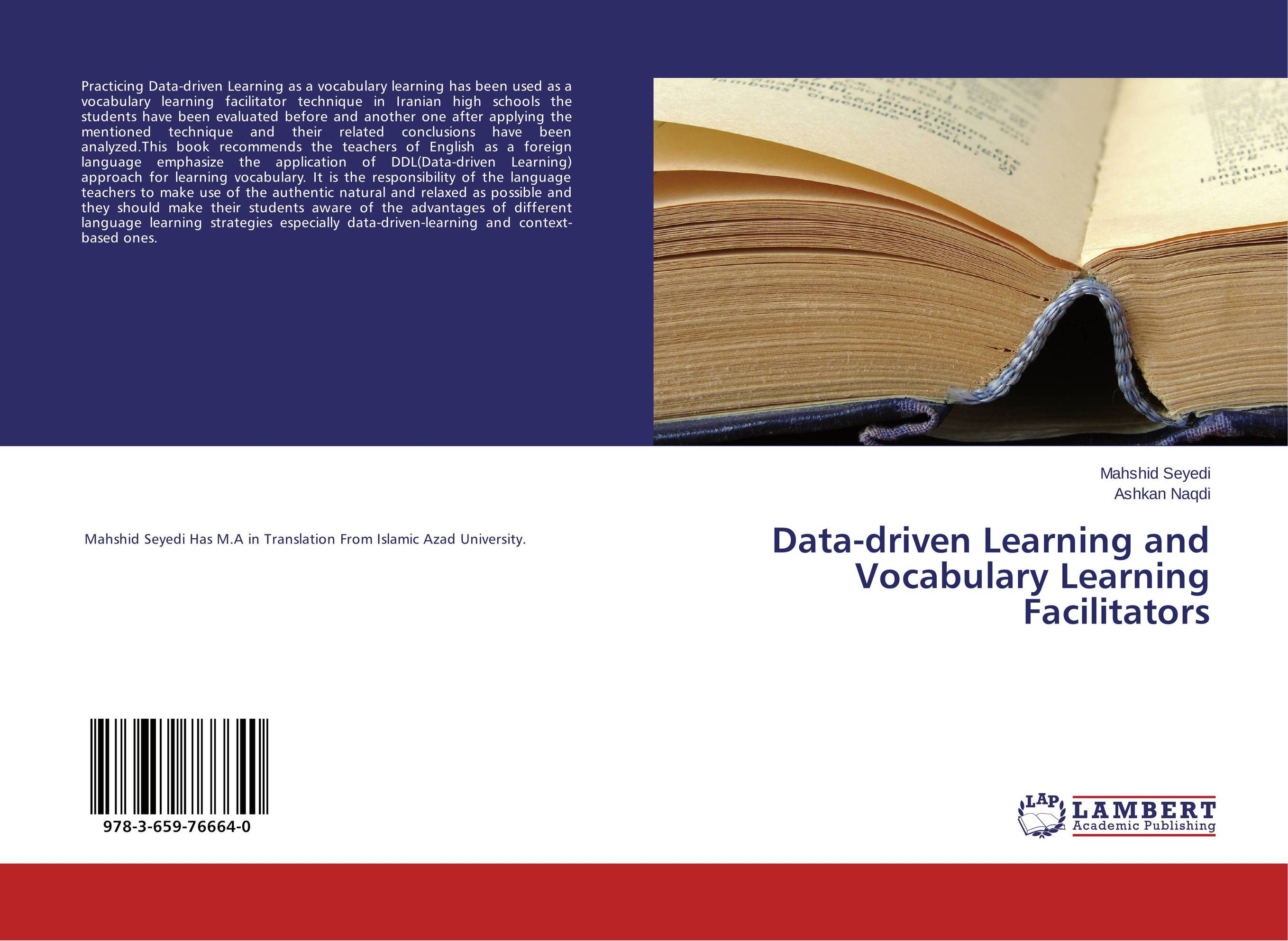 Data-driven Learning and Vocabulary Learning Facilitators strategic vocabulary learning