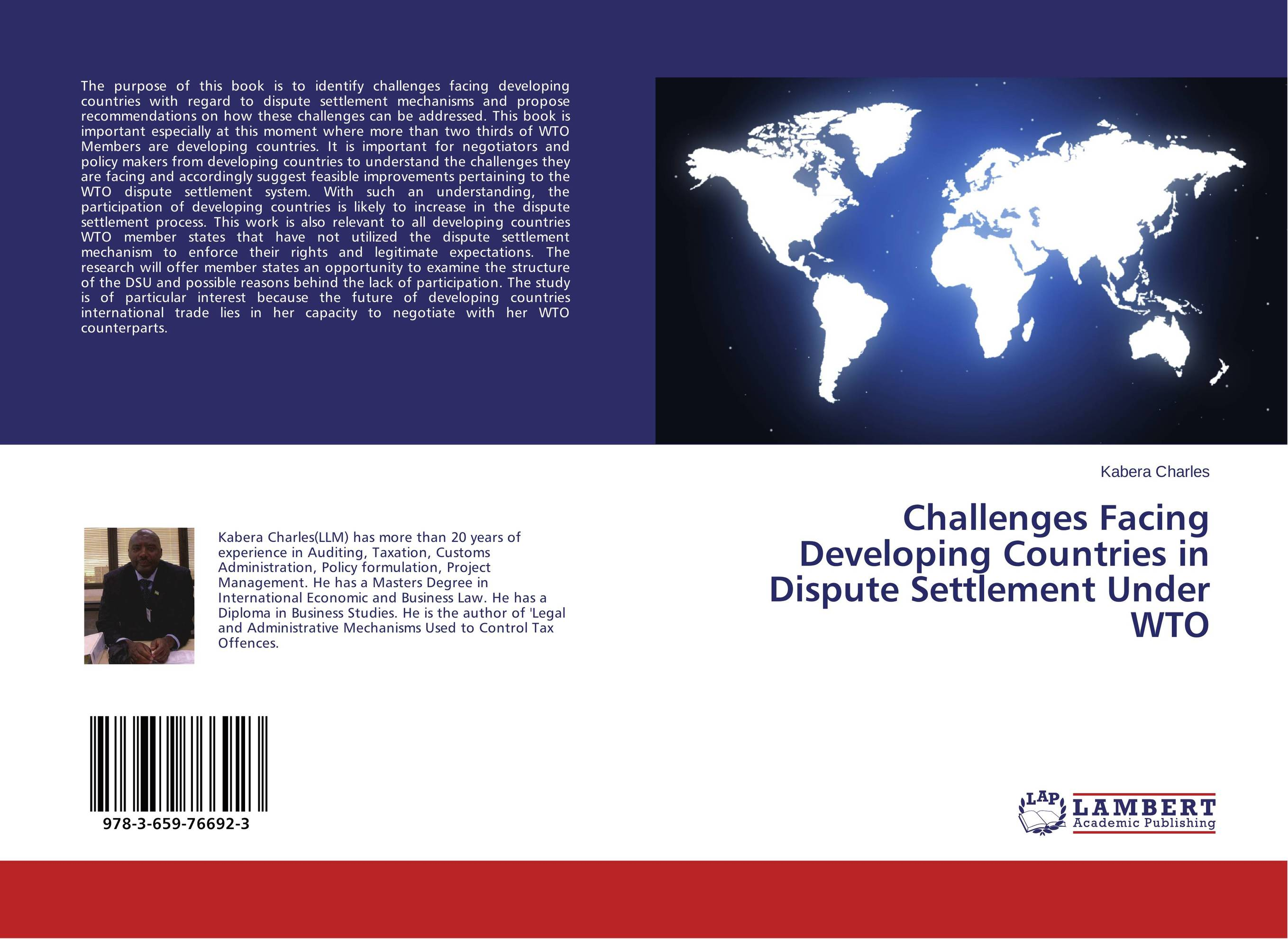Challenges Facing Developing Countries in Dispute Settlement Under WTO