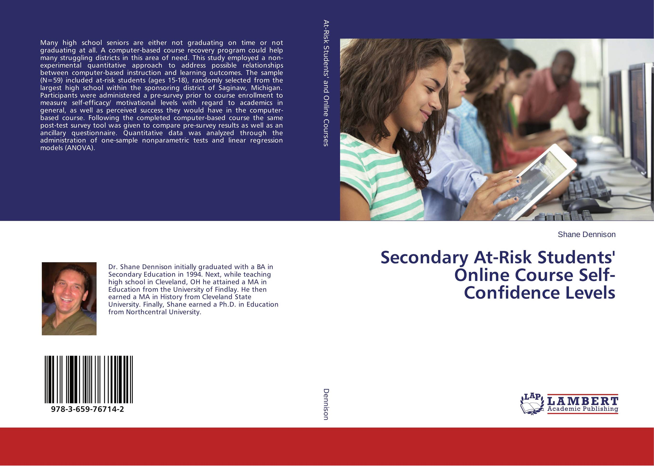 Secondary At-Risk Students' Online Course Self-Confidence Levels course enrollment decisions