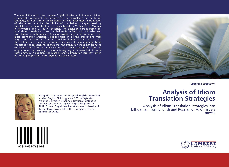 Analysis of Idiom Translation Strategies