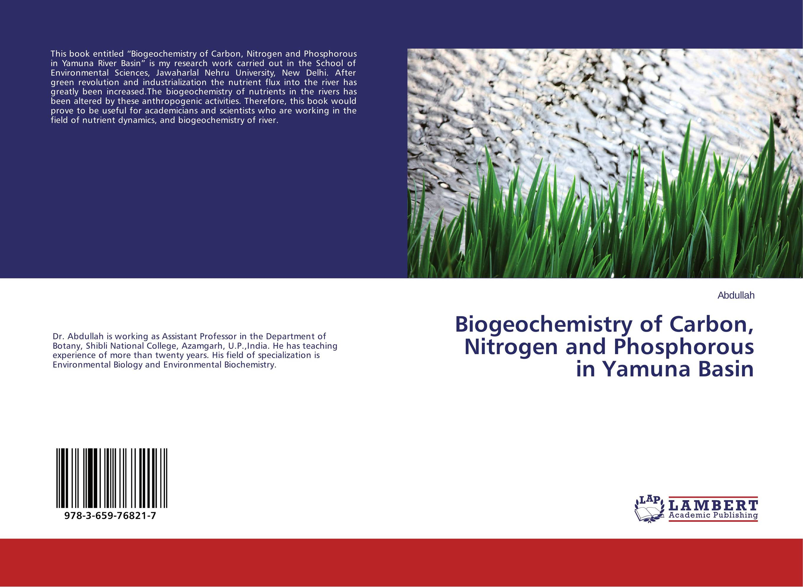 Biogeochemistry of Carbon, Nitrogen and Phosphorous in Yamuna Basin pastoralism and agriculture pennar basin india